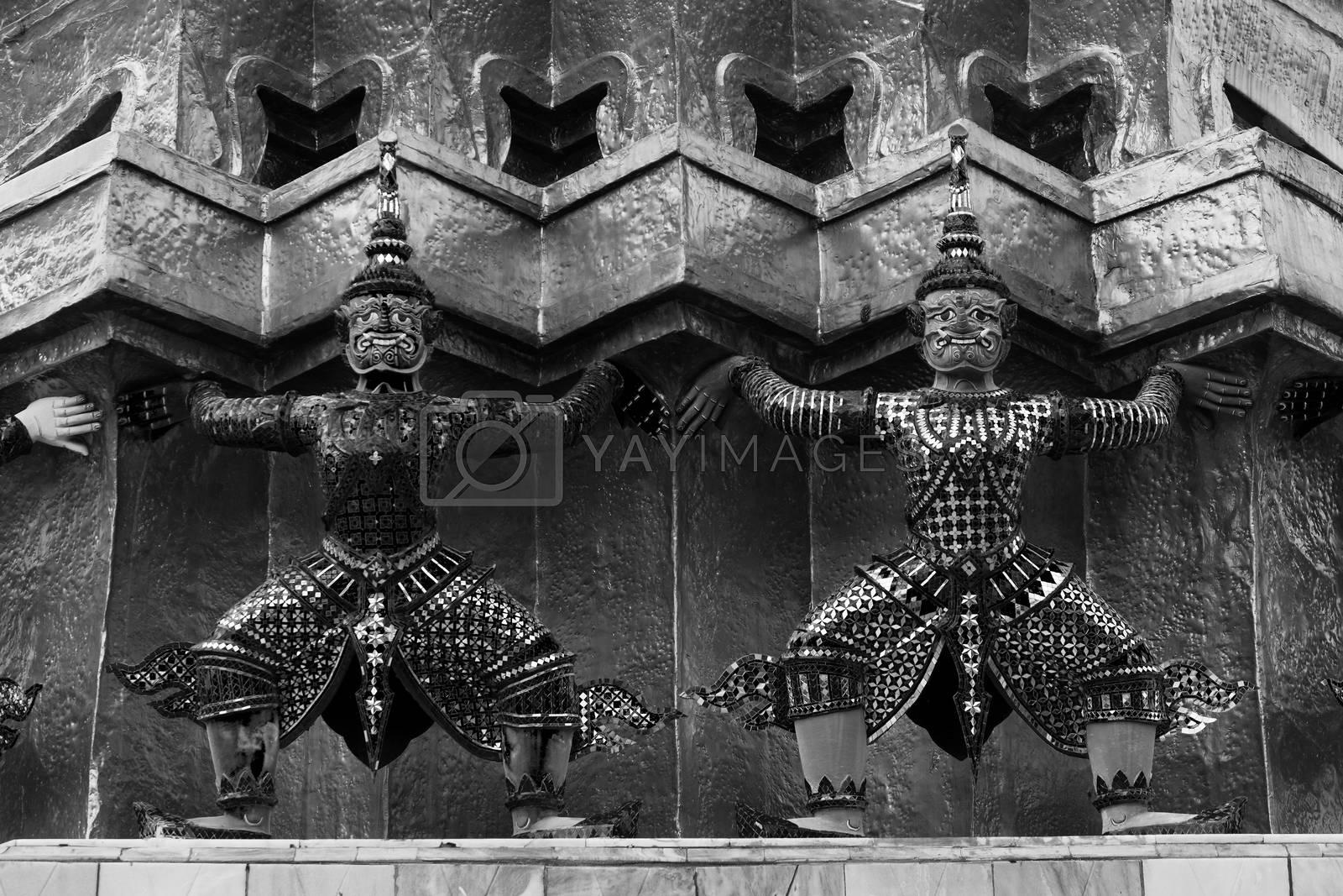 Grand Palace Guardian - Bangkok by jakgree