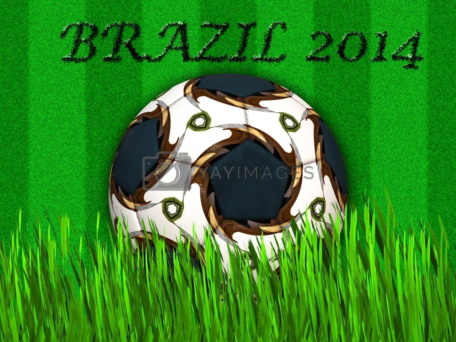FIFA World cup - Brazil 2014 soccer ball by ankarb