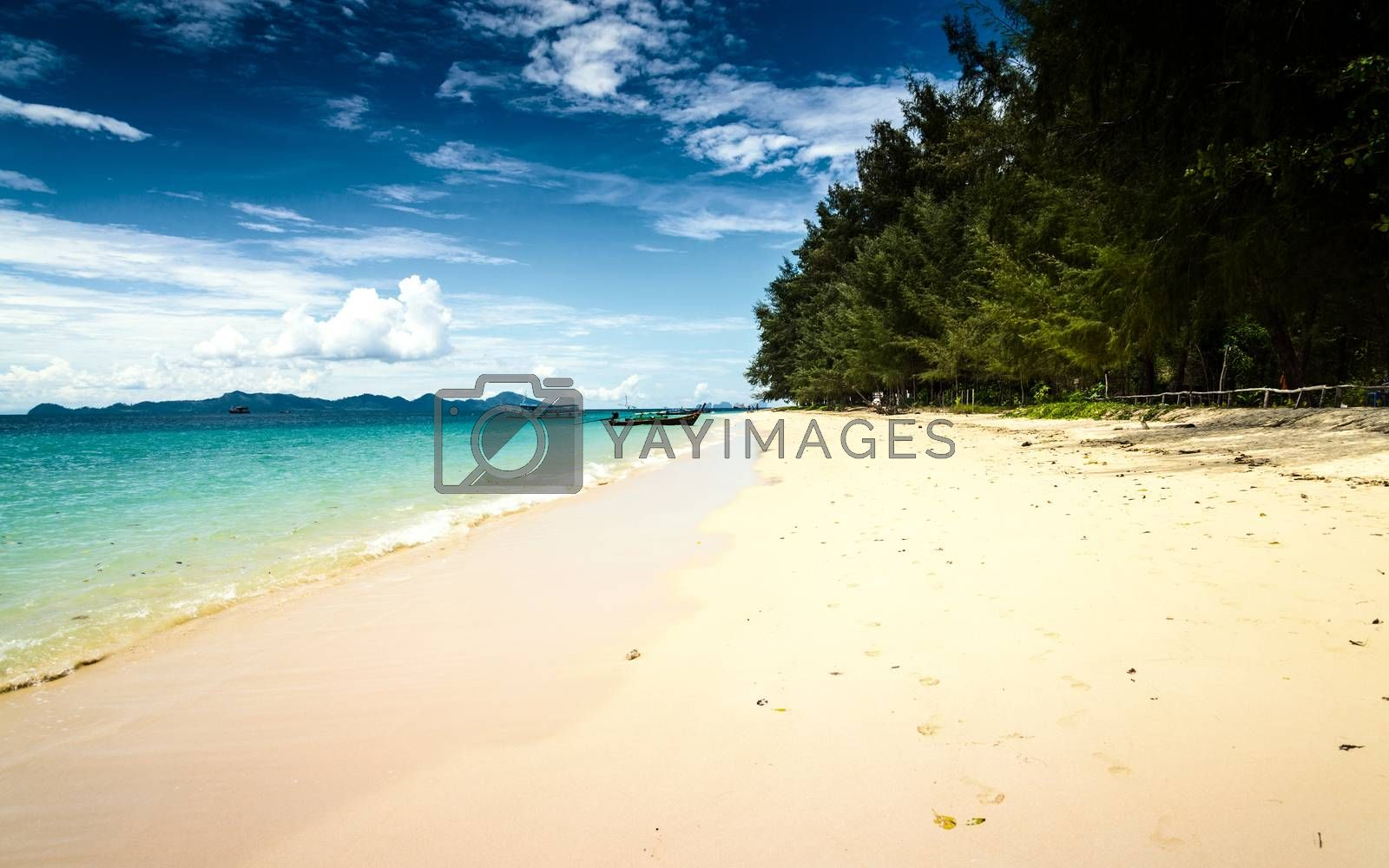 Kradan Island, an island in the Andaman Sea, Thailand by jakgree