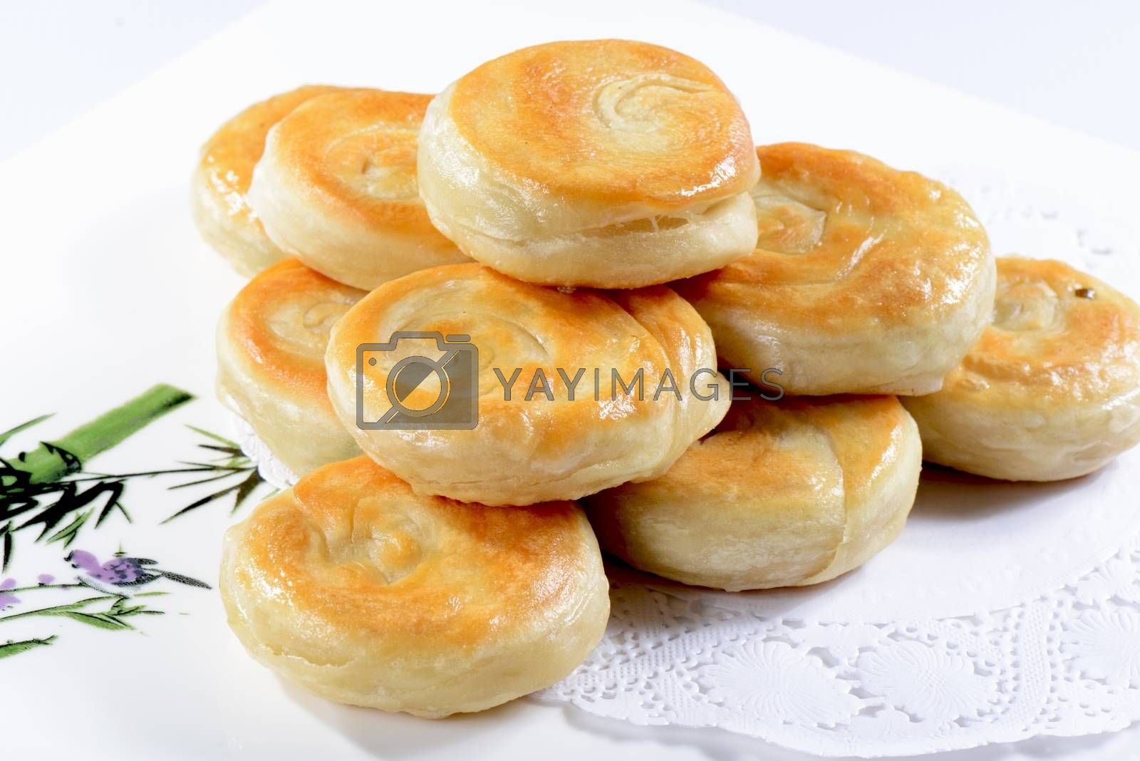 Chinese Food: Fried Cakes by bbbar