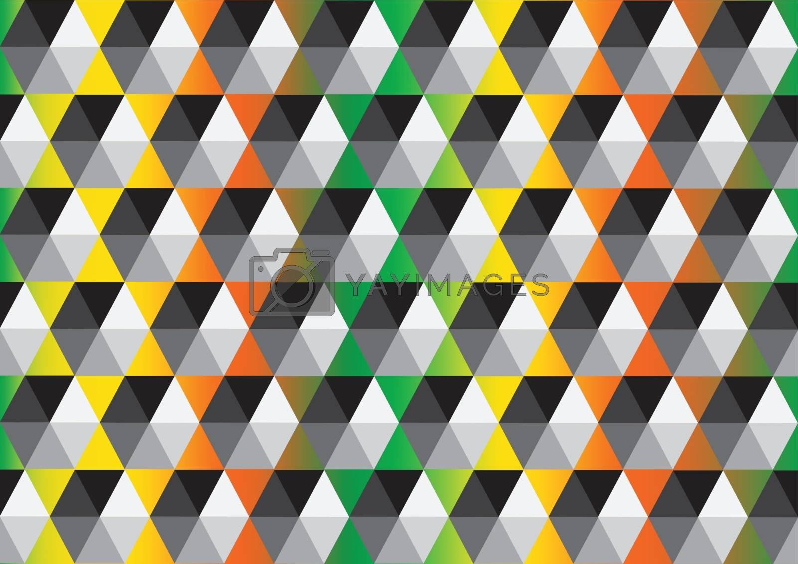 Geometric  abstract  background  by kiddaikiddee