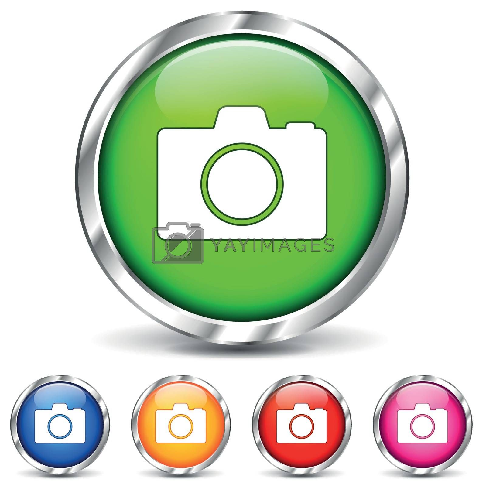 Vector camera chrome icons by nickylarson974