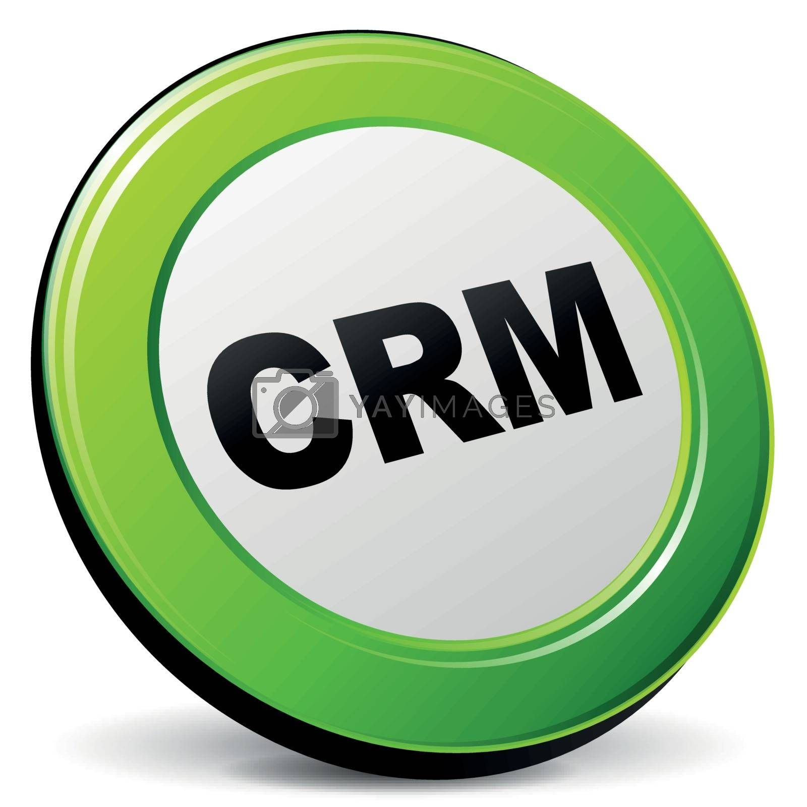 Vector crm 3d icon by nickylarson974