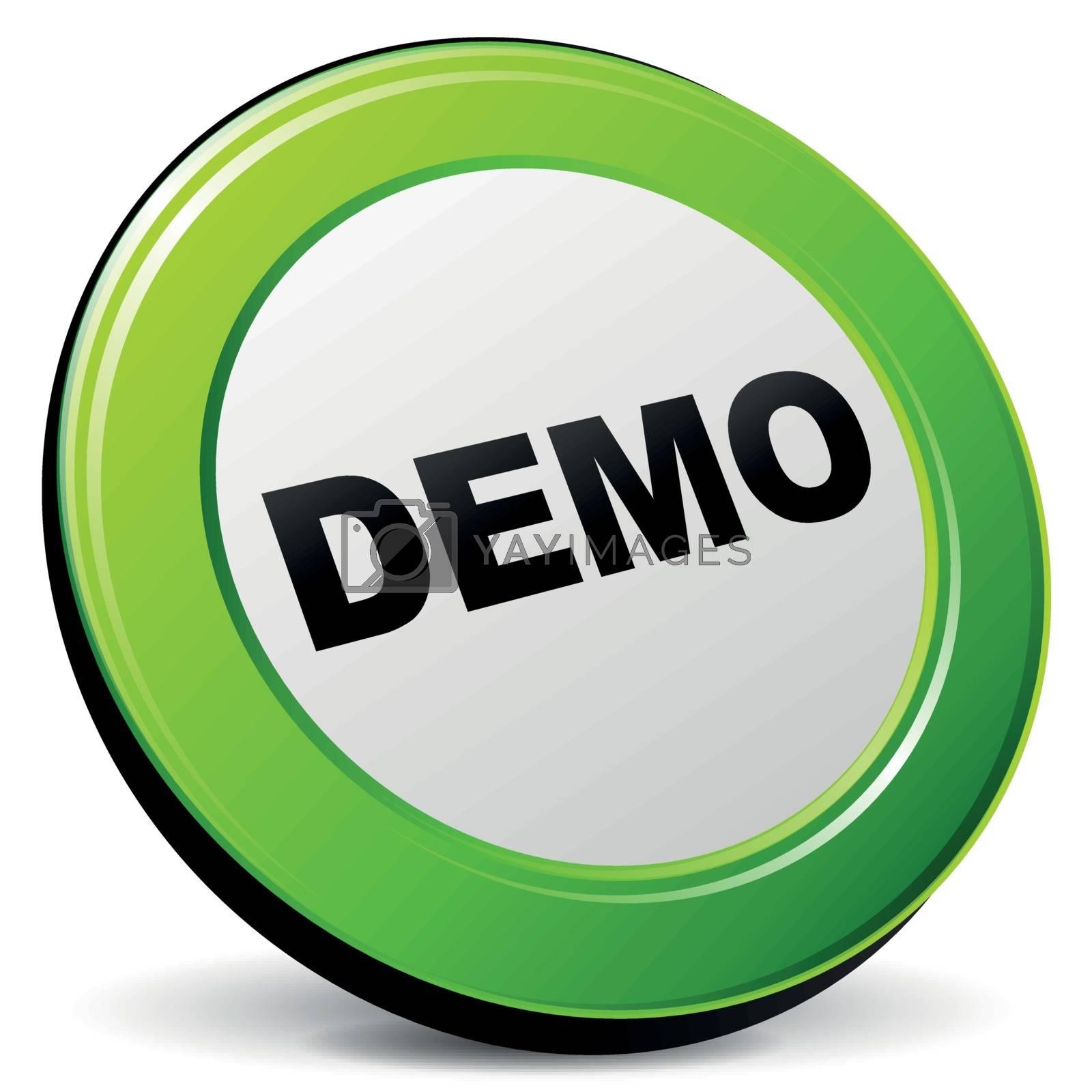 Vector demo 3d icon by nickylarson974