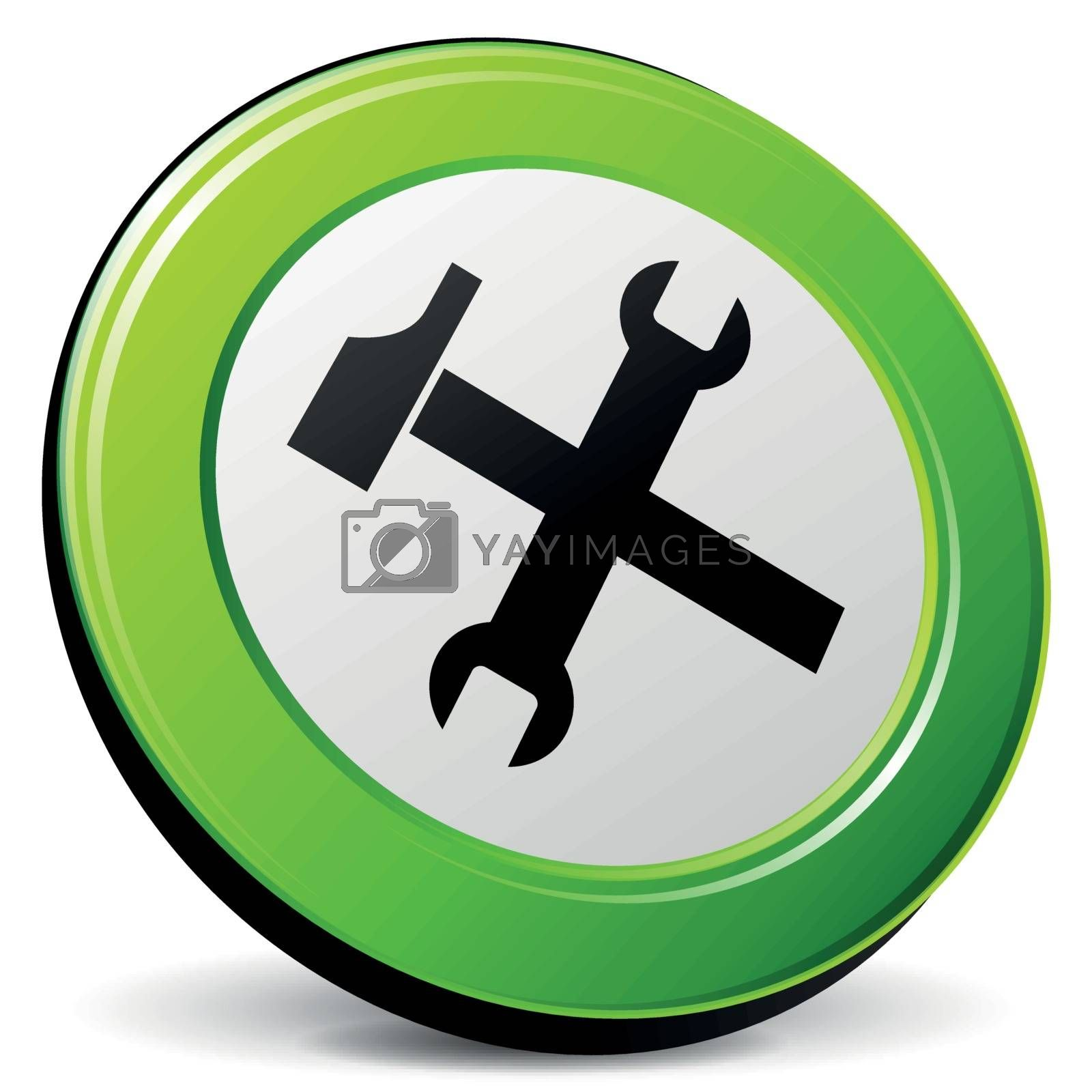 Vector technical support 3d icon by nickylarson974