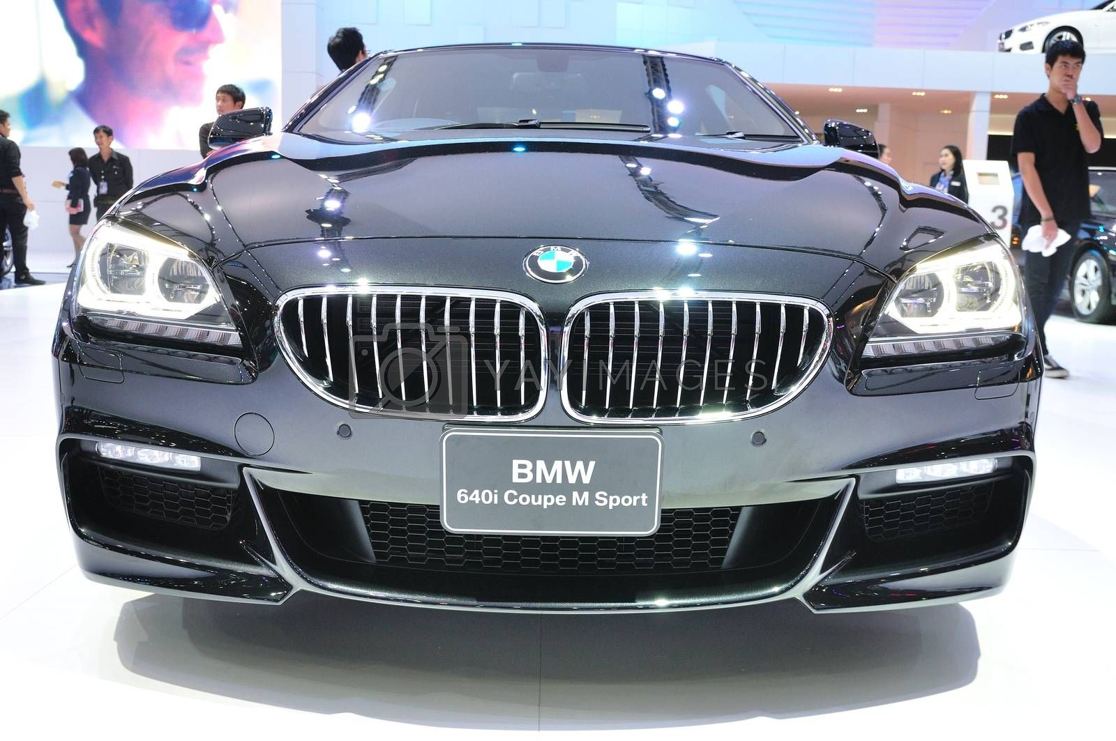 NONTHABURI - MARCH 25:NEW BM 640I coupe M sport on display at Th by thampapon