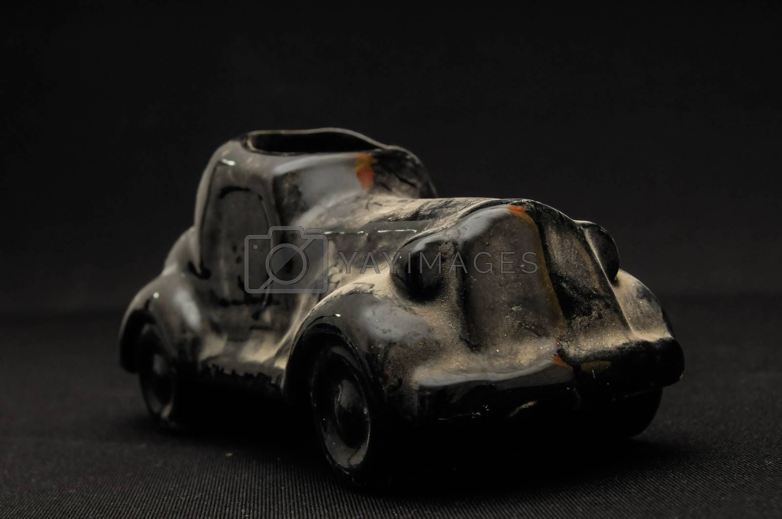 Royalty free image of Vintage car clay model by underworld