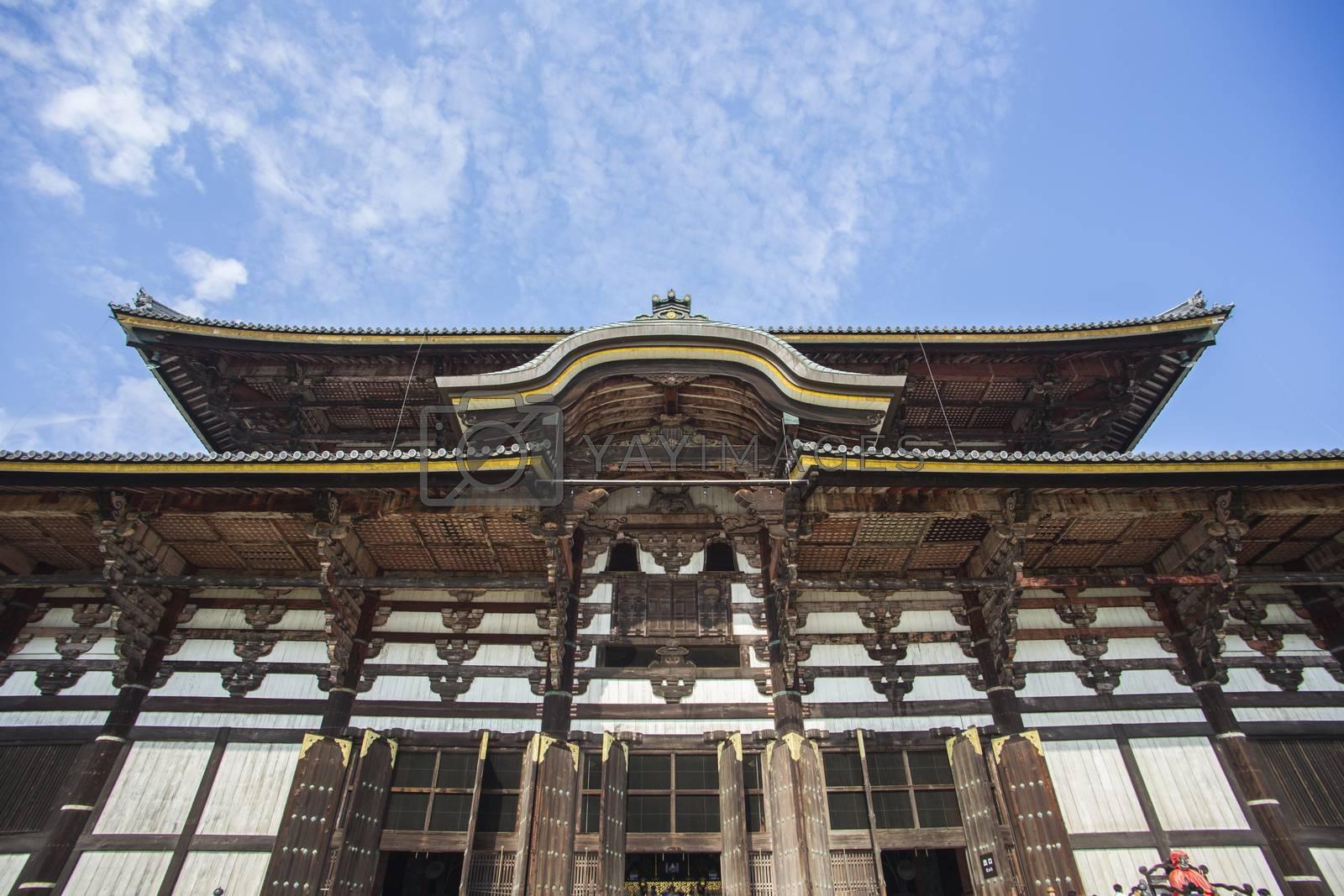 Todai-ji Temple. Nara. Japan by 2nix