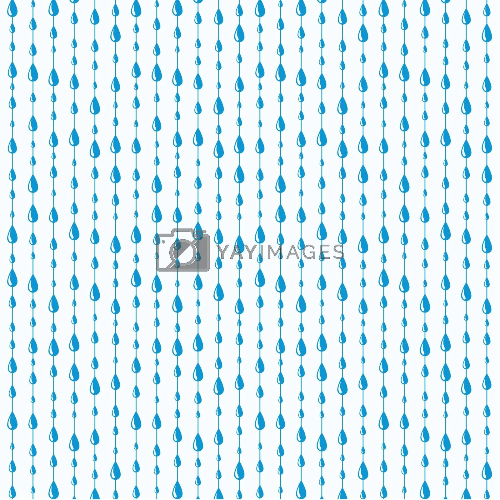 vector rain drops background pattern by freesoulproduction
