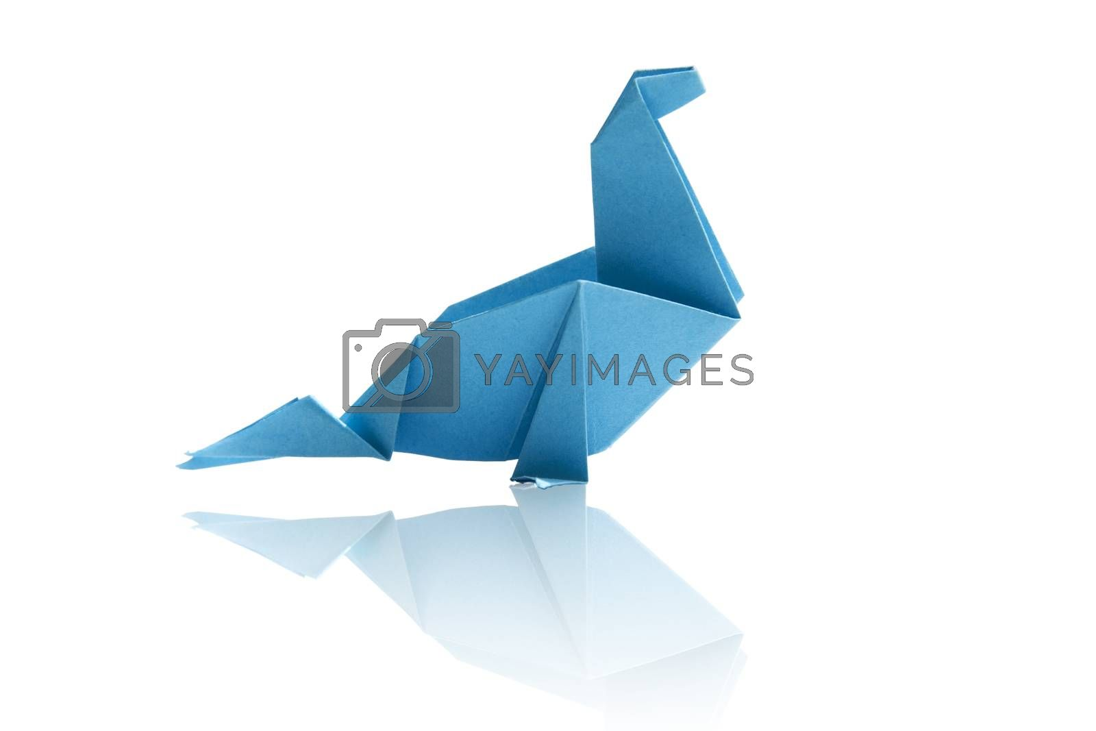 Origami isolated. by eskymaks