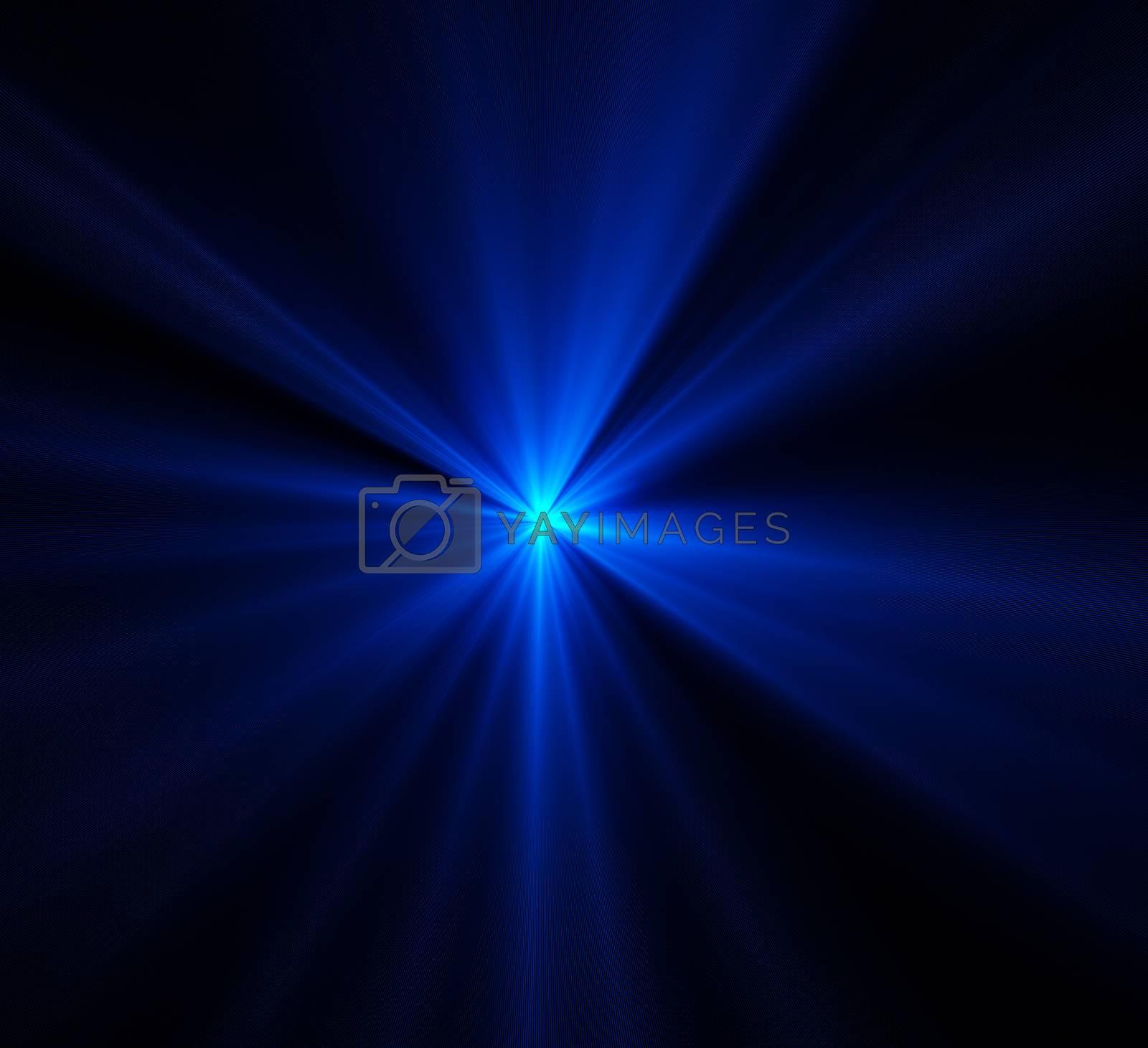 lighting against a dark background