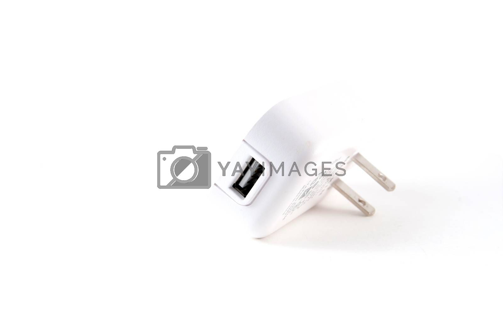Wall plug USB