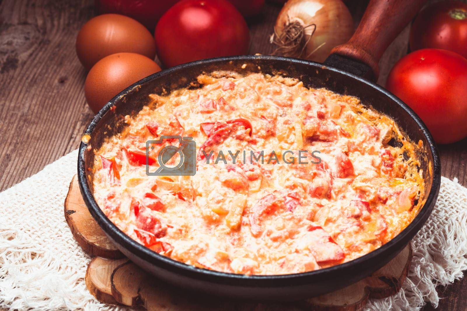 Hungarian cuisine - letcho ingredients and dish