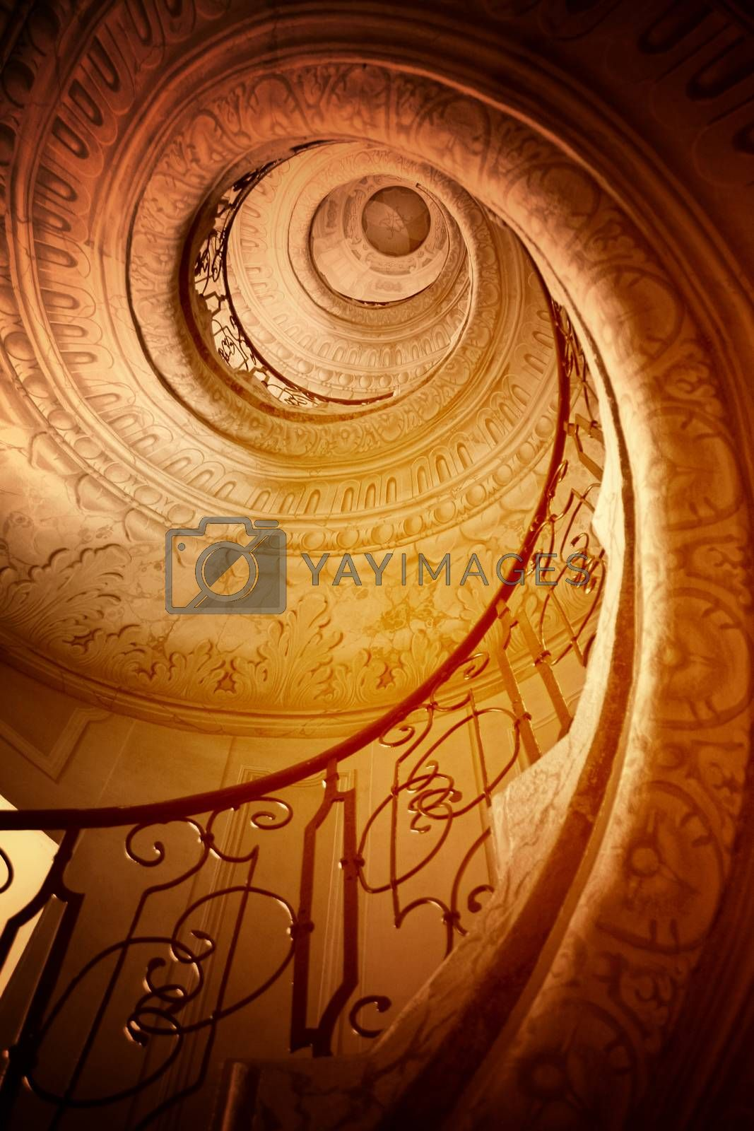 Spiral staircase   by arosoft