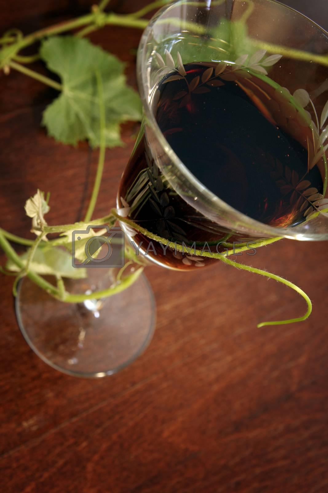 Red wine by arosoft