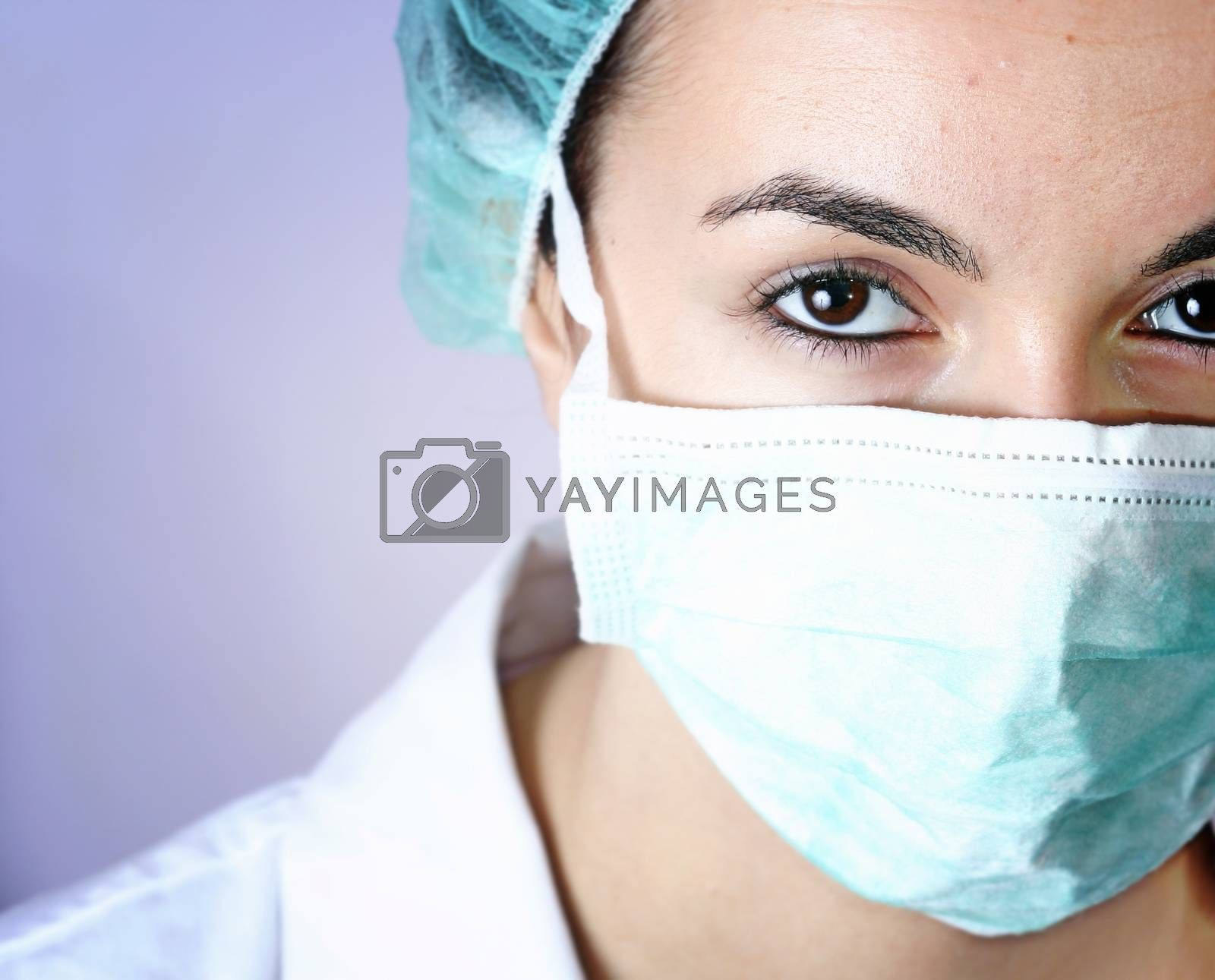 Portrait of a young doctor! by arosoft