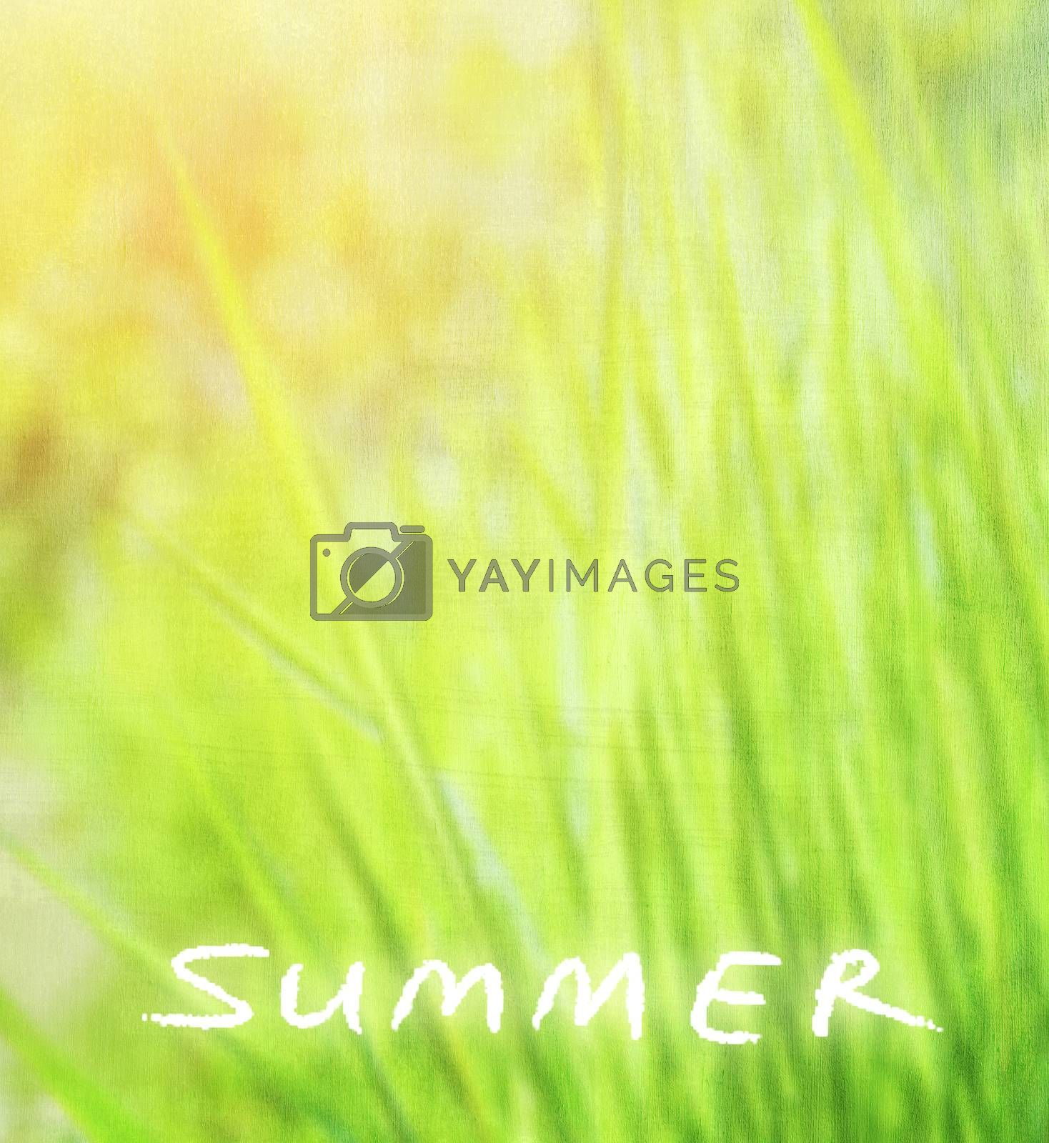 Royalty free image of Abstract natural background by Anna_Omelchenko