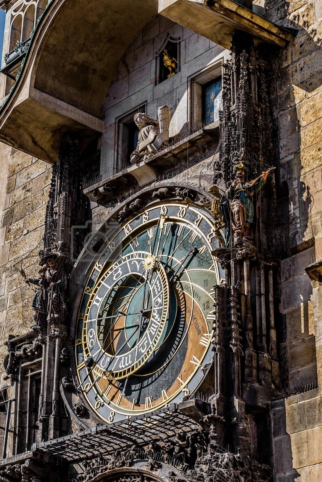 Royalty free image of The Prague astronomical clock, or Prague orloj by artush