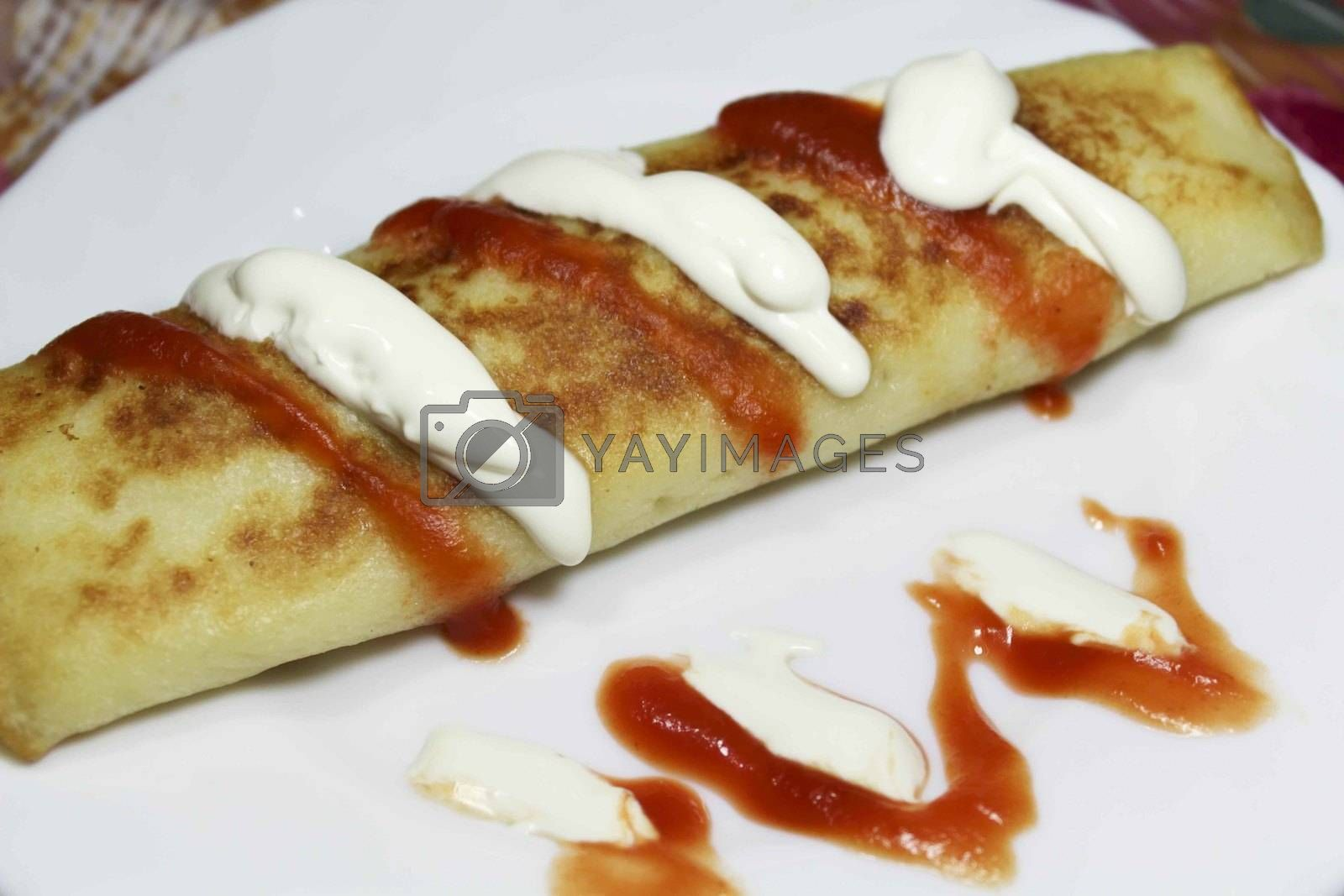 Royalty free image of Crepes by openas