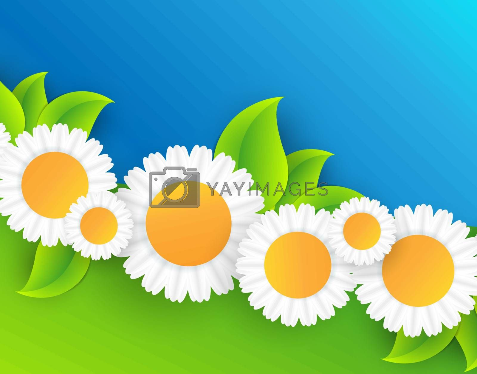 Royalty free image of floral abstract vector frame by marivlada