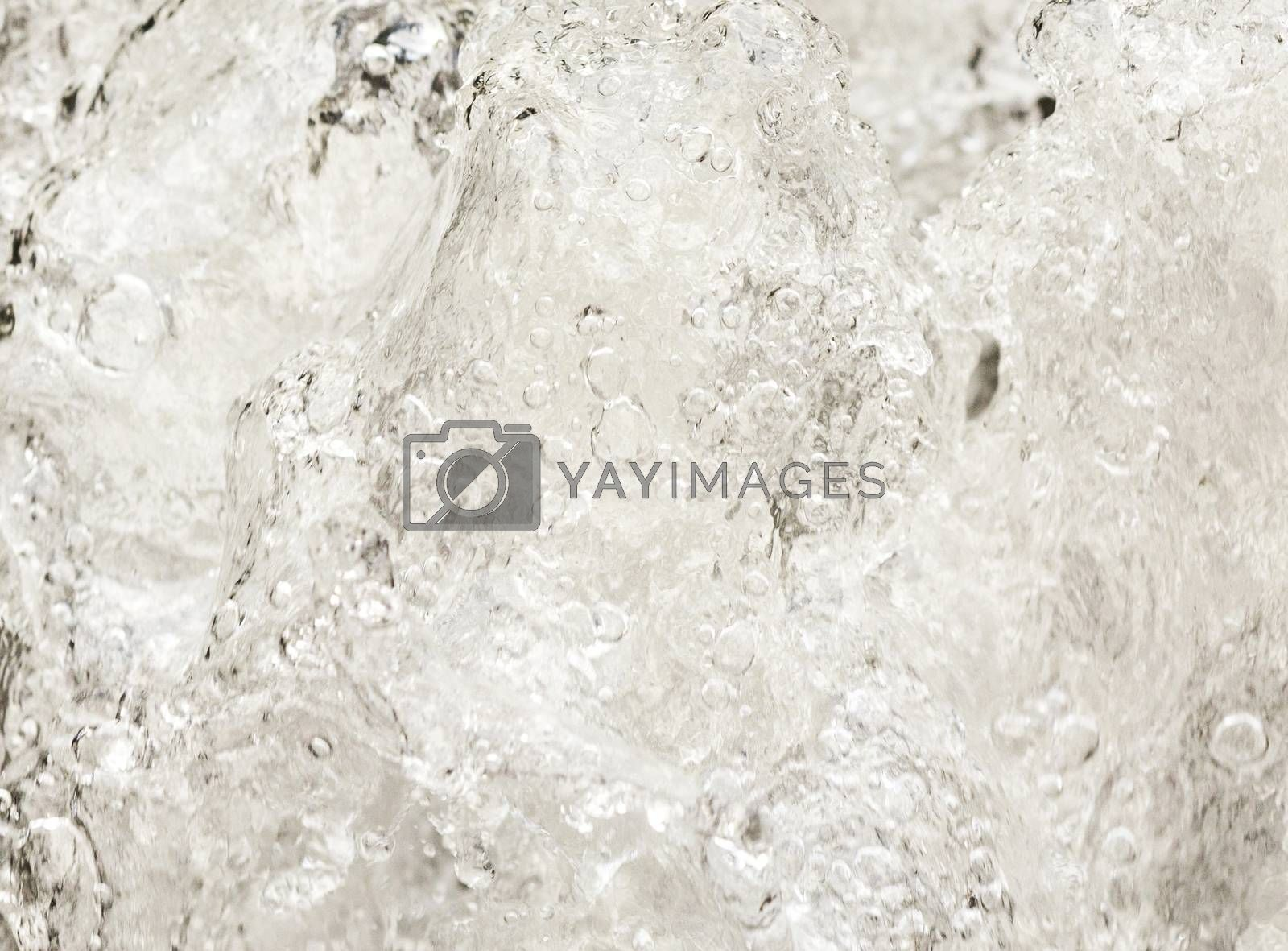 Royalty free image of pattern of water by meinzahn