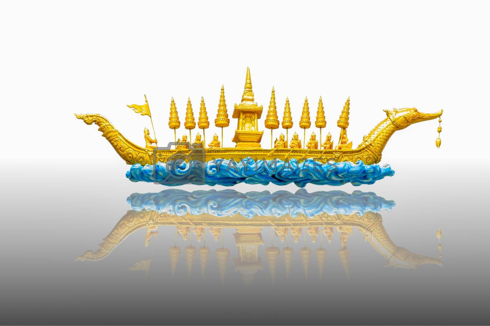 Royalty free image of The Arts and rowing competitions by Sorapop