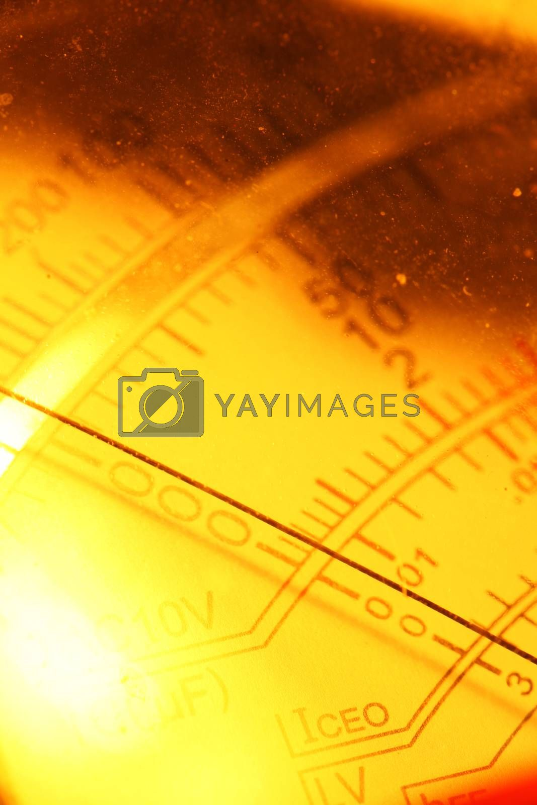 Royalty free image of Electric multi meter by janaka