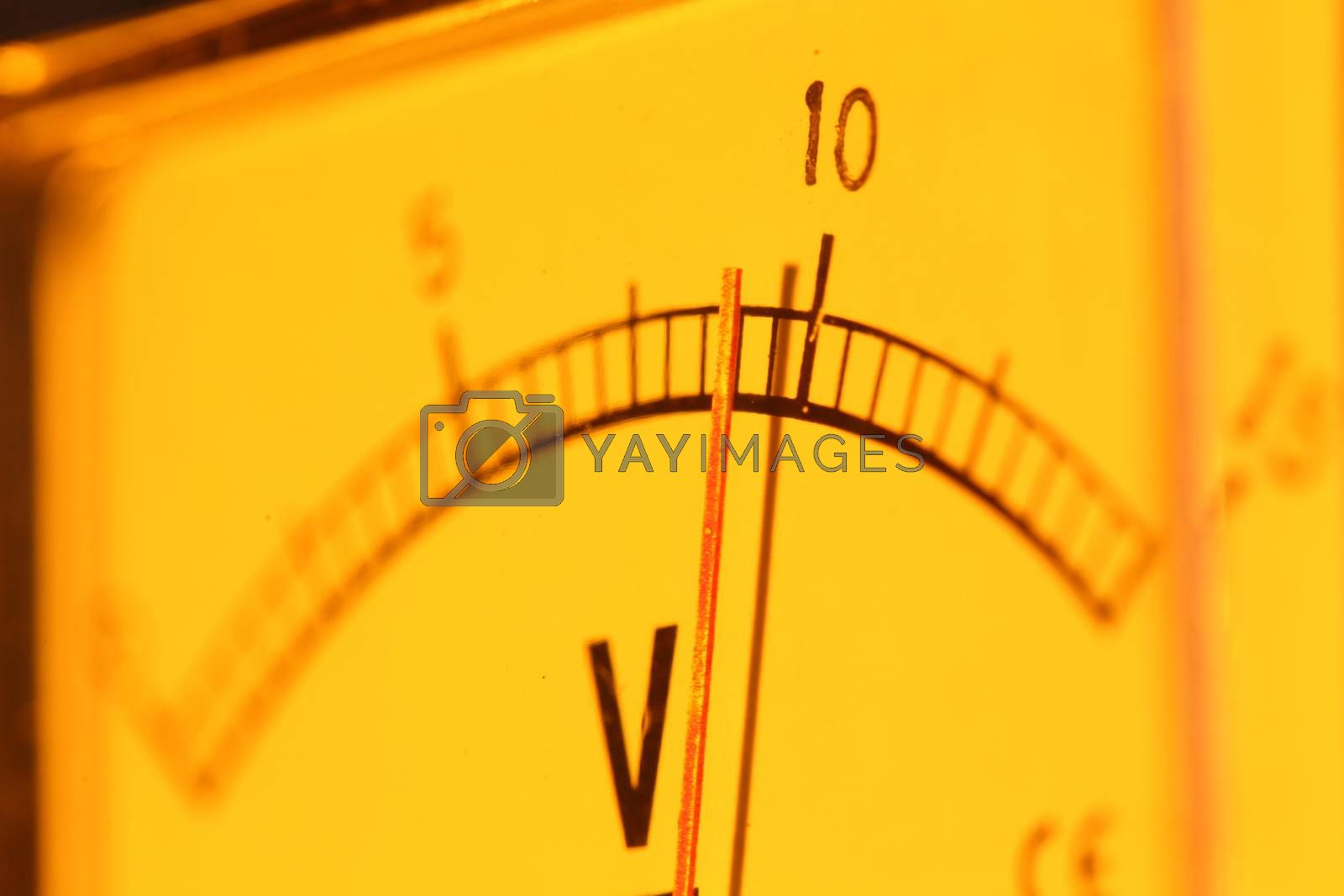 Royalty free image of Electric meter by janaka
