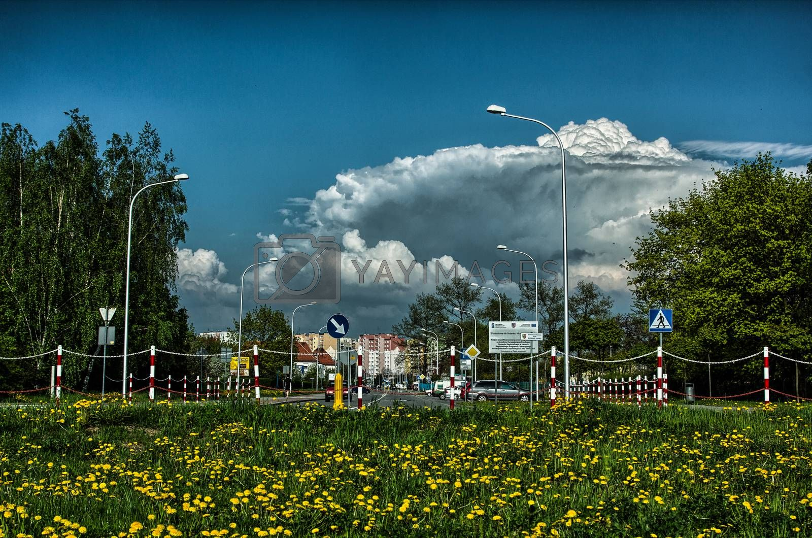 Royalty free image of Incoming storm by zych