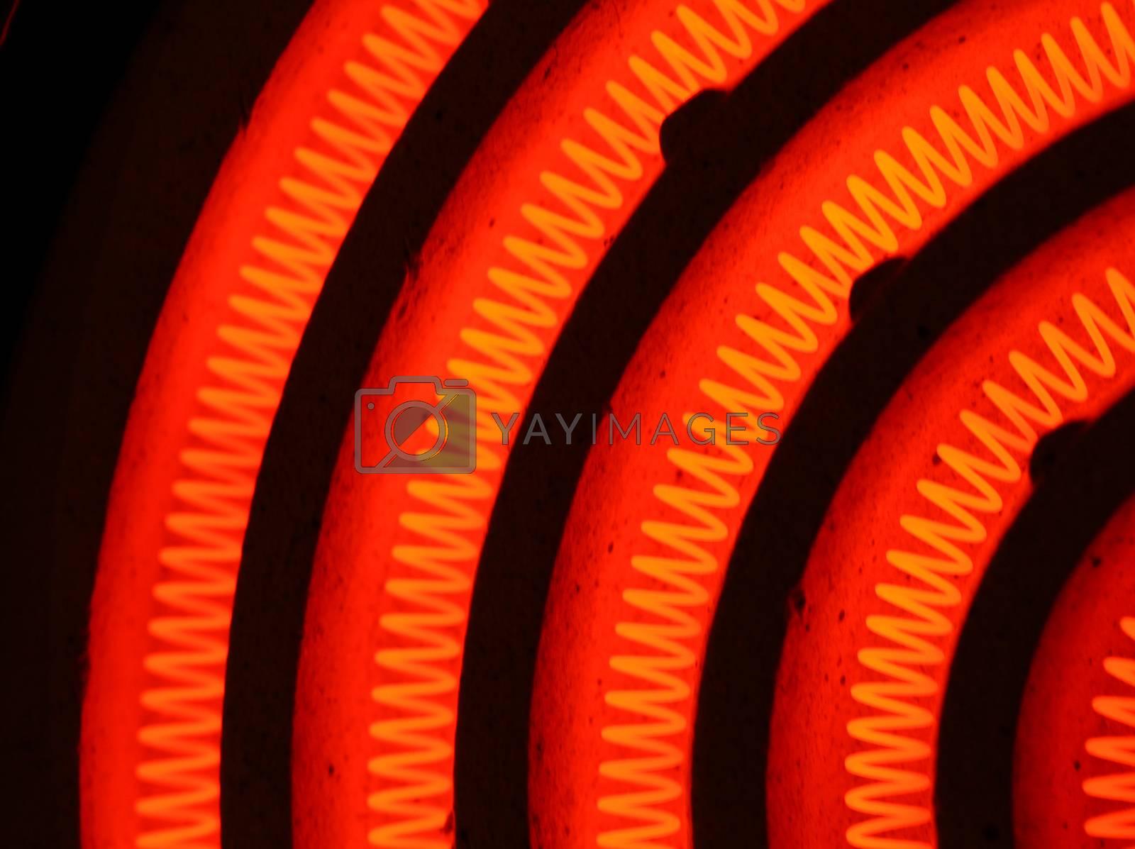 Royalty free image of Heating Element by janaka