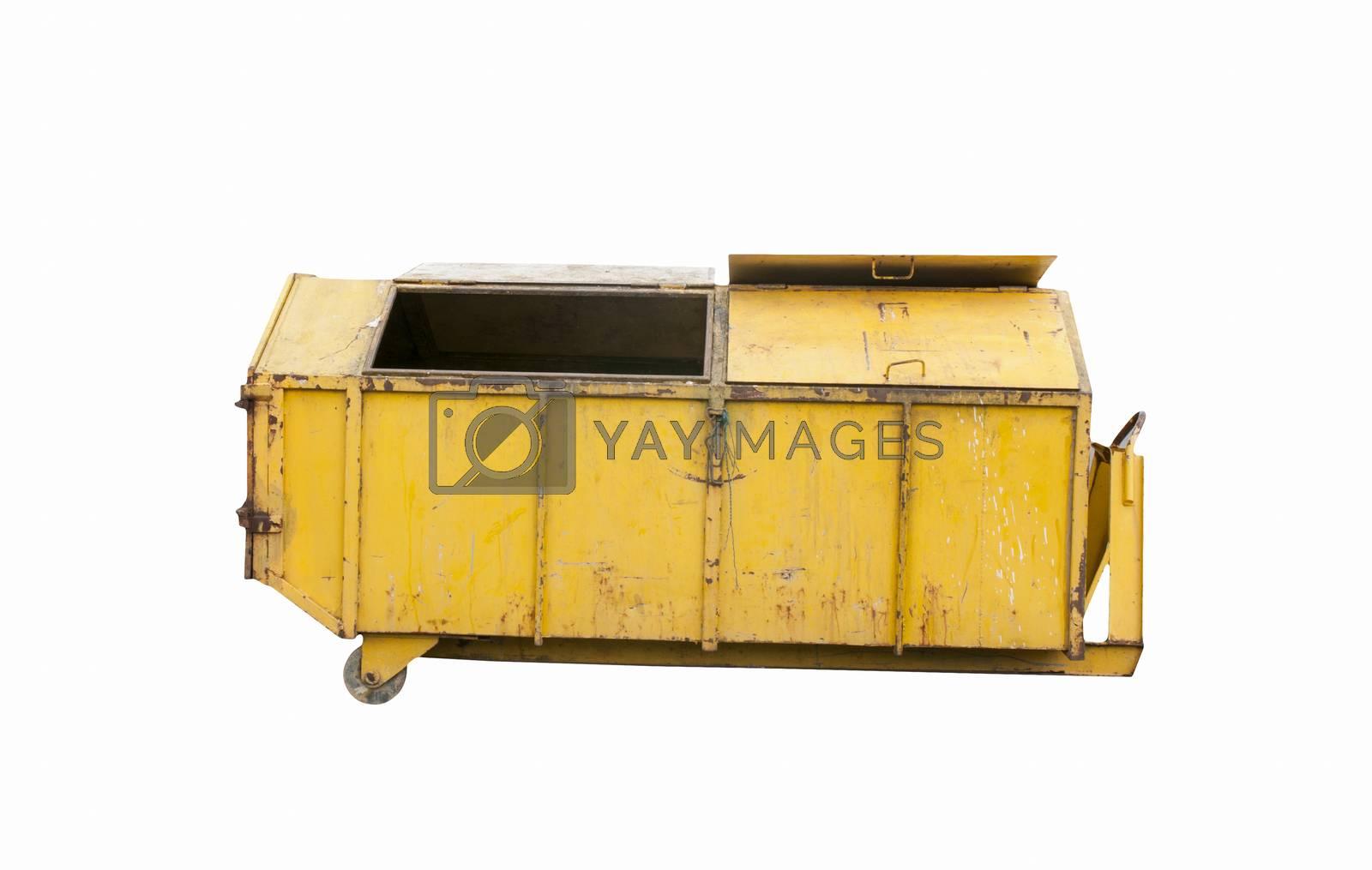 Royalty free image of Steel bin in recycle by Sorapop