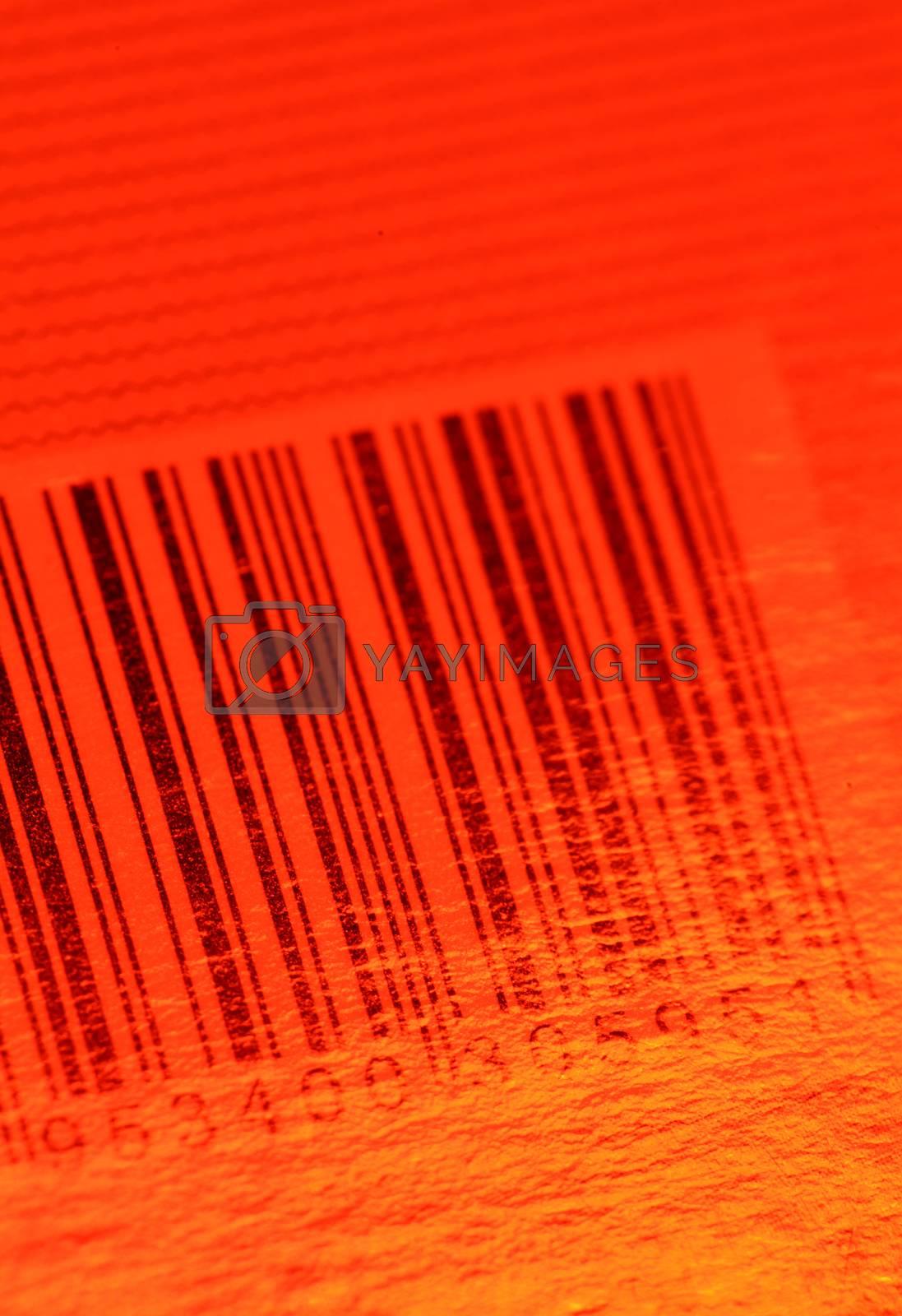 Royalty free image of Bar code by janaka