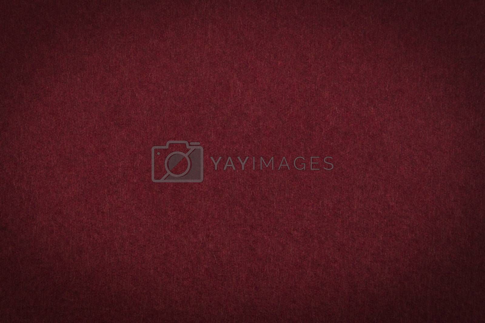 Royalty free image of Maroon paper background or texture by johan10