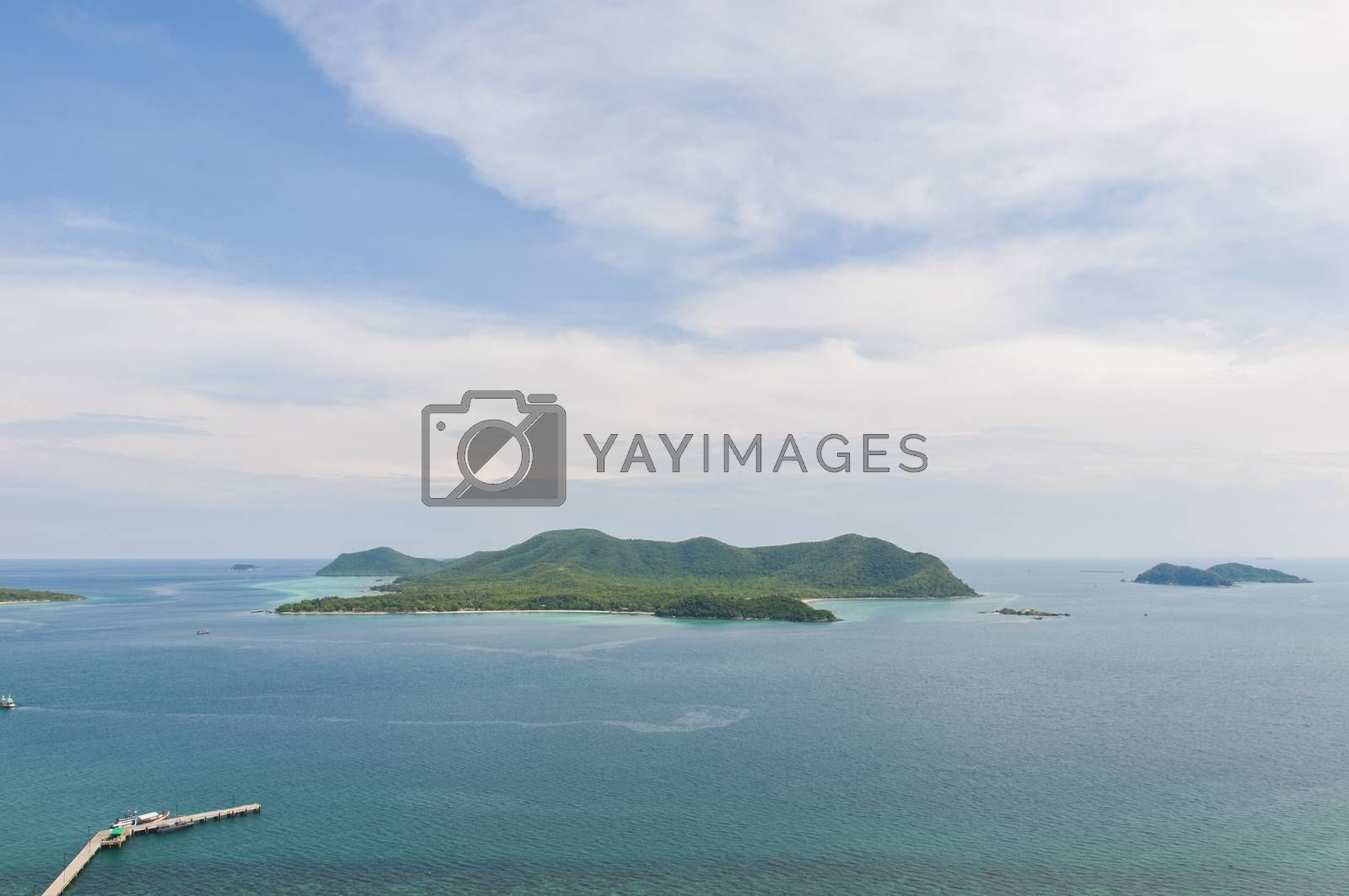Royalty free image of Tropical island of Thailand by Sorapop