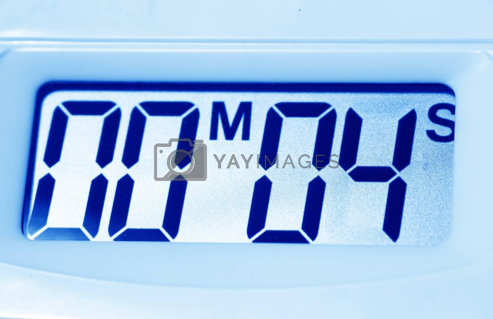 Royalty free image of Timer Clock by janaka