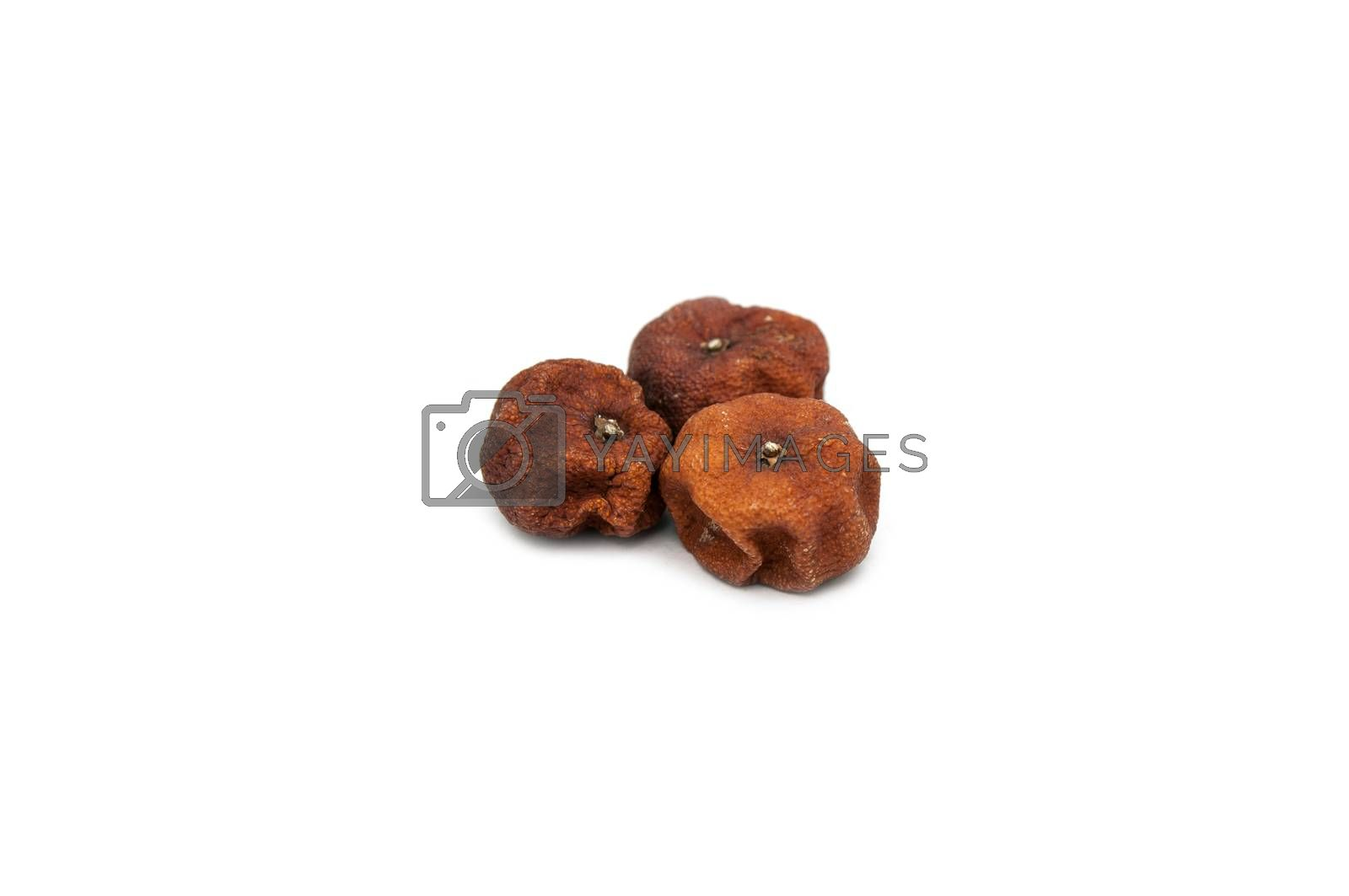 Royalty free image of Orange dry and rotted by Sorapop