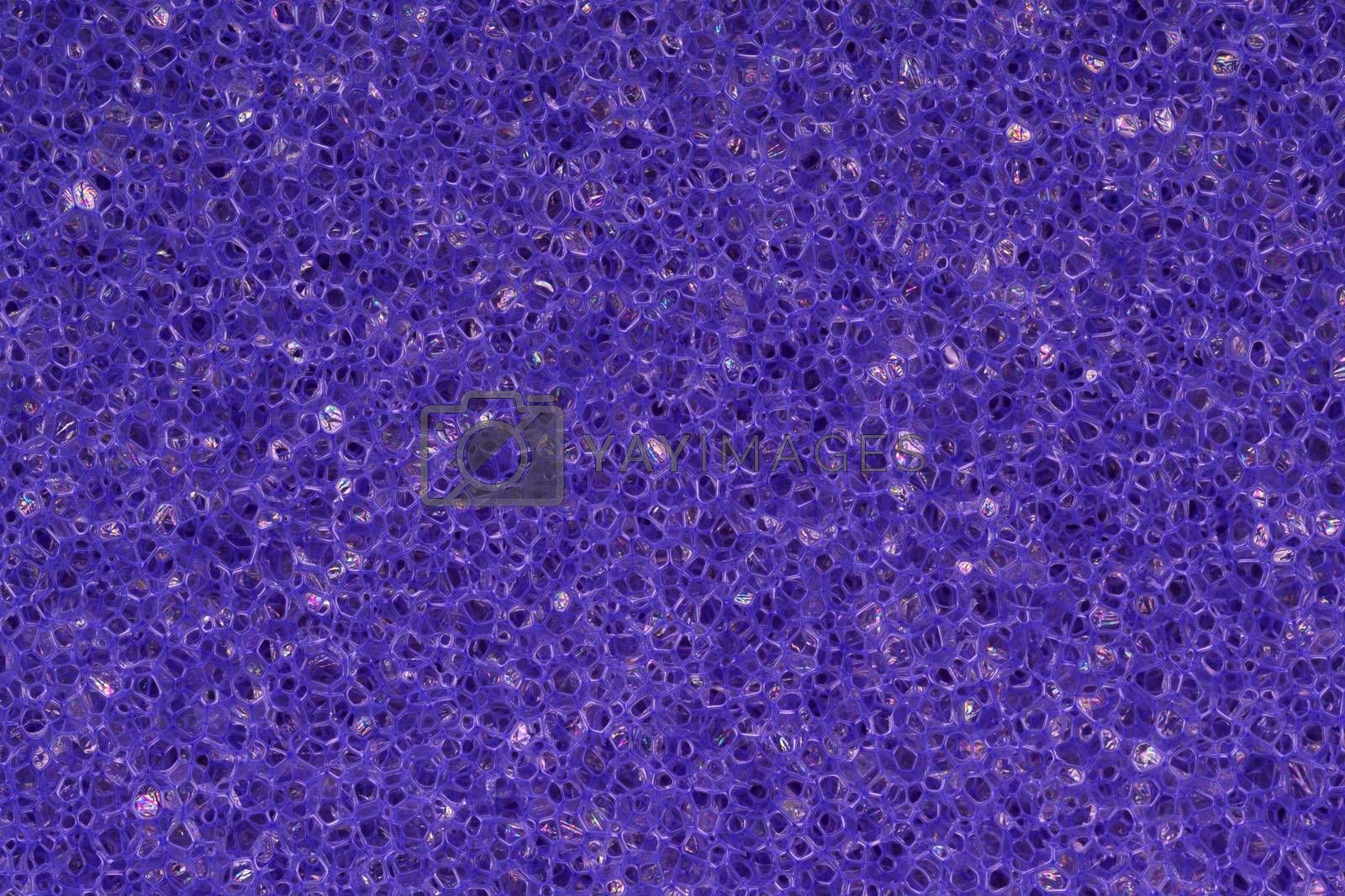 Royalty free image of Abstract background, a purple sponge by johan10