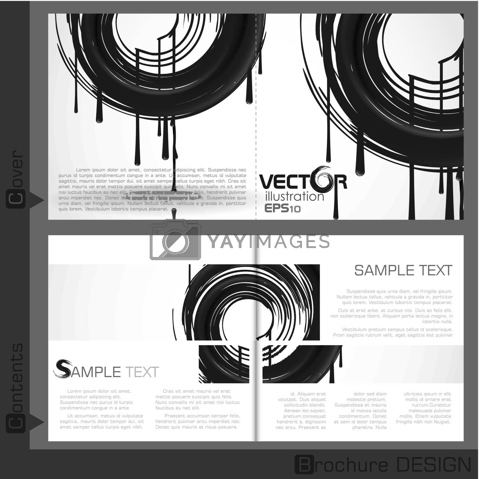 Royalty free image of Brochure Template Design. by HelenStock