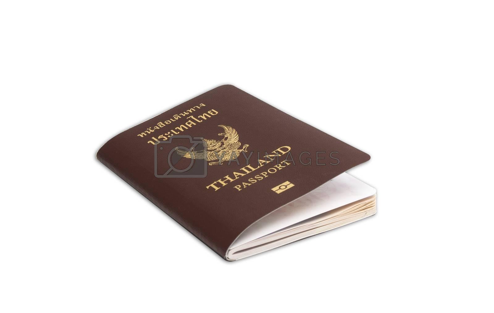 Royalty free image of Thailand passport by Sorapop
