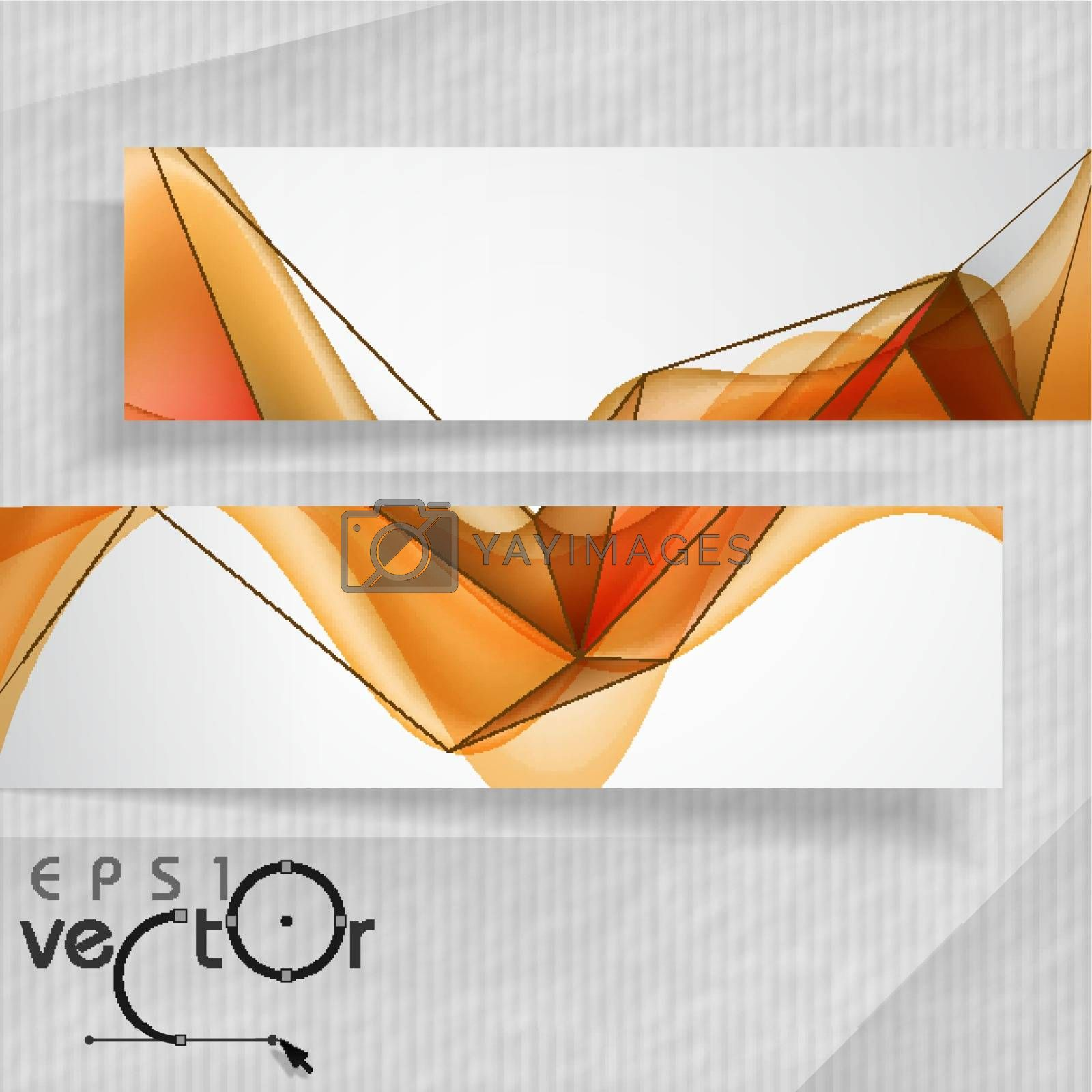 Royalty free image of Abstract Banners by HelenStock