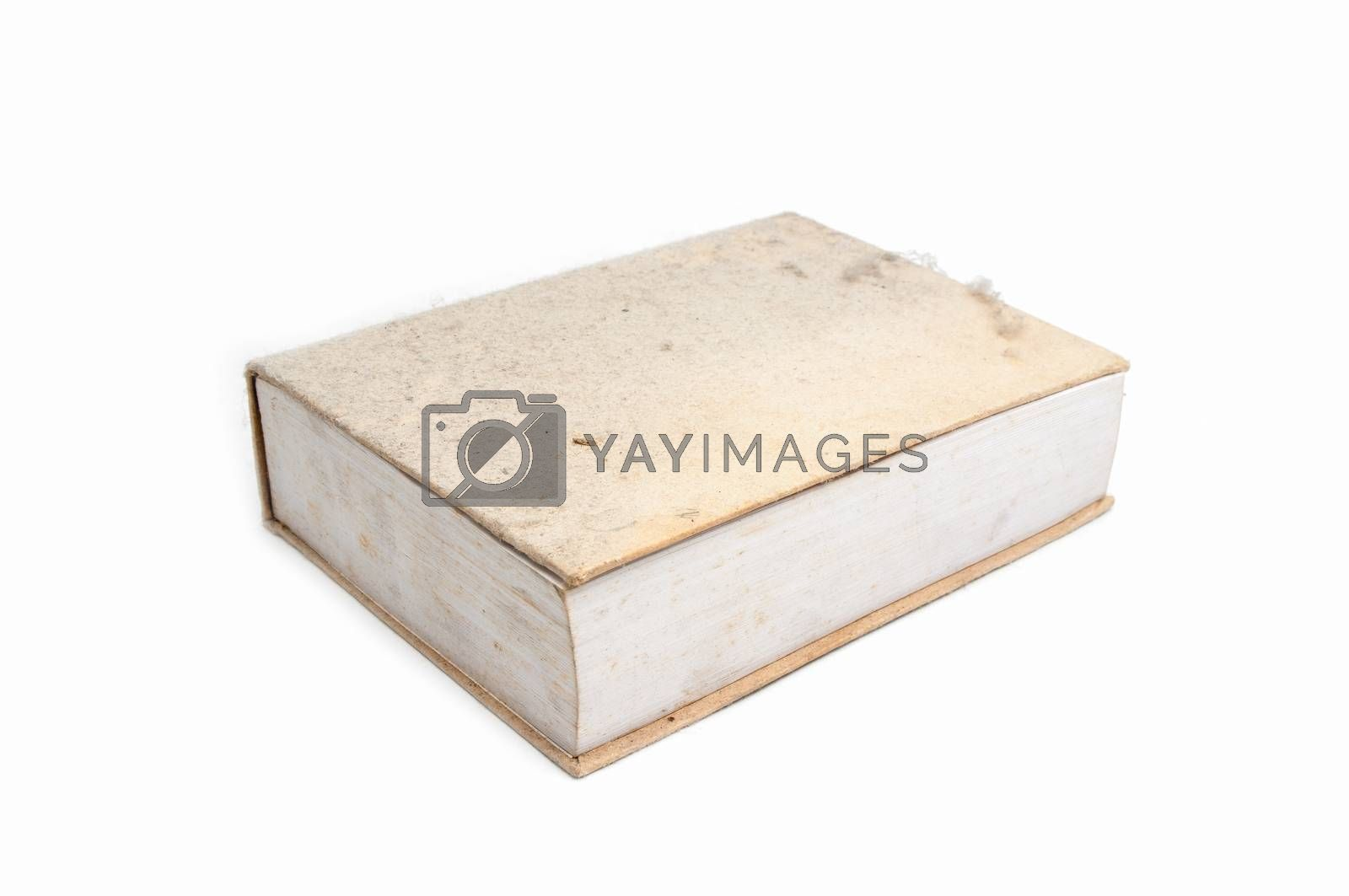 Royalty free image of old obsolete book and dust by Sorapop