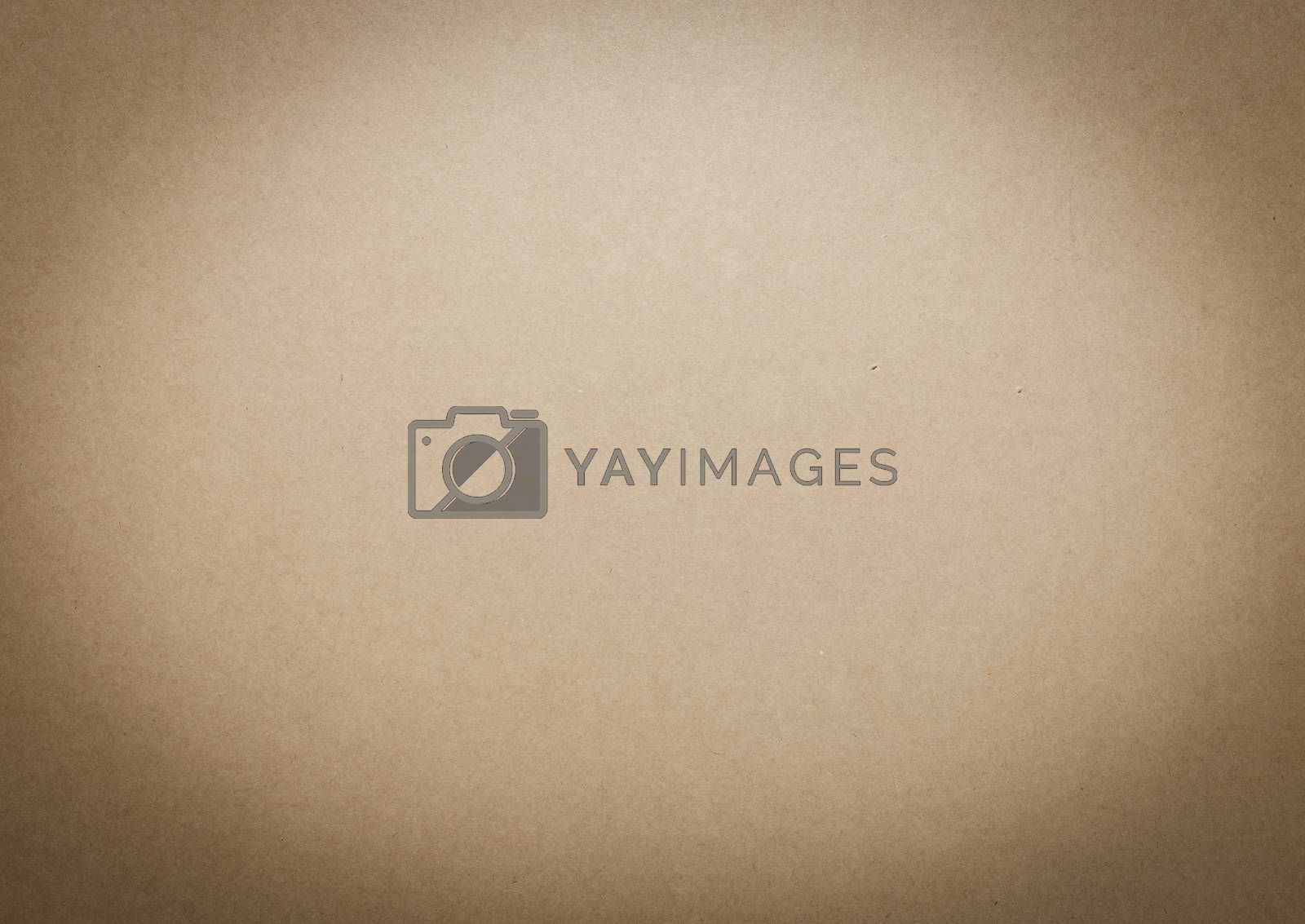 Royalty free image of Old brown paper texture by Sorapop
