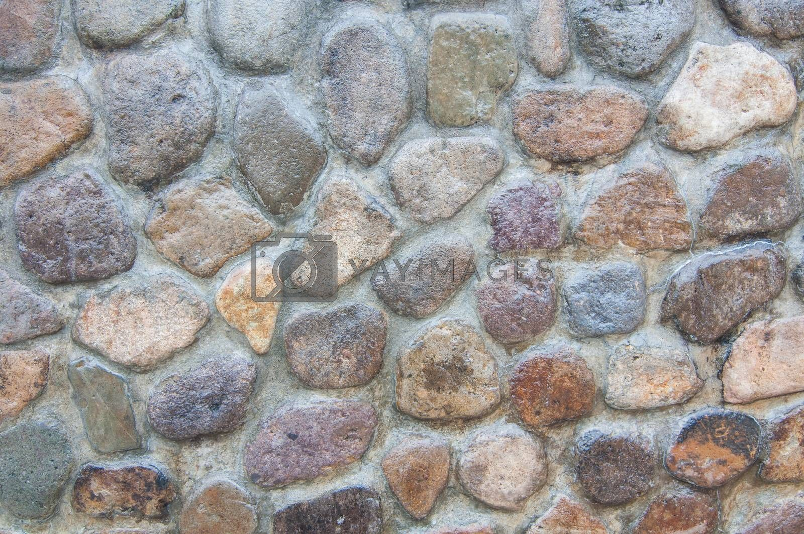Royalty free image of Texture of stone by Sorapop