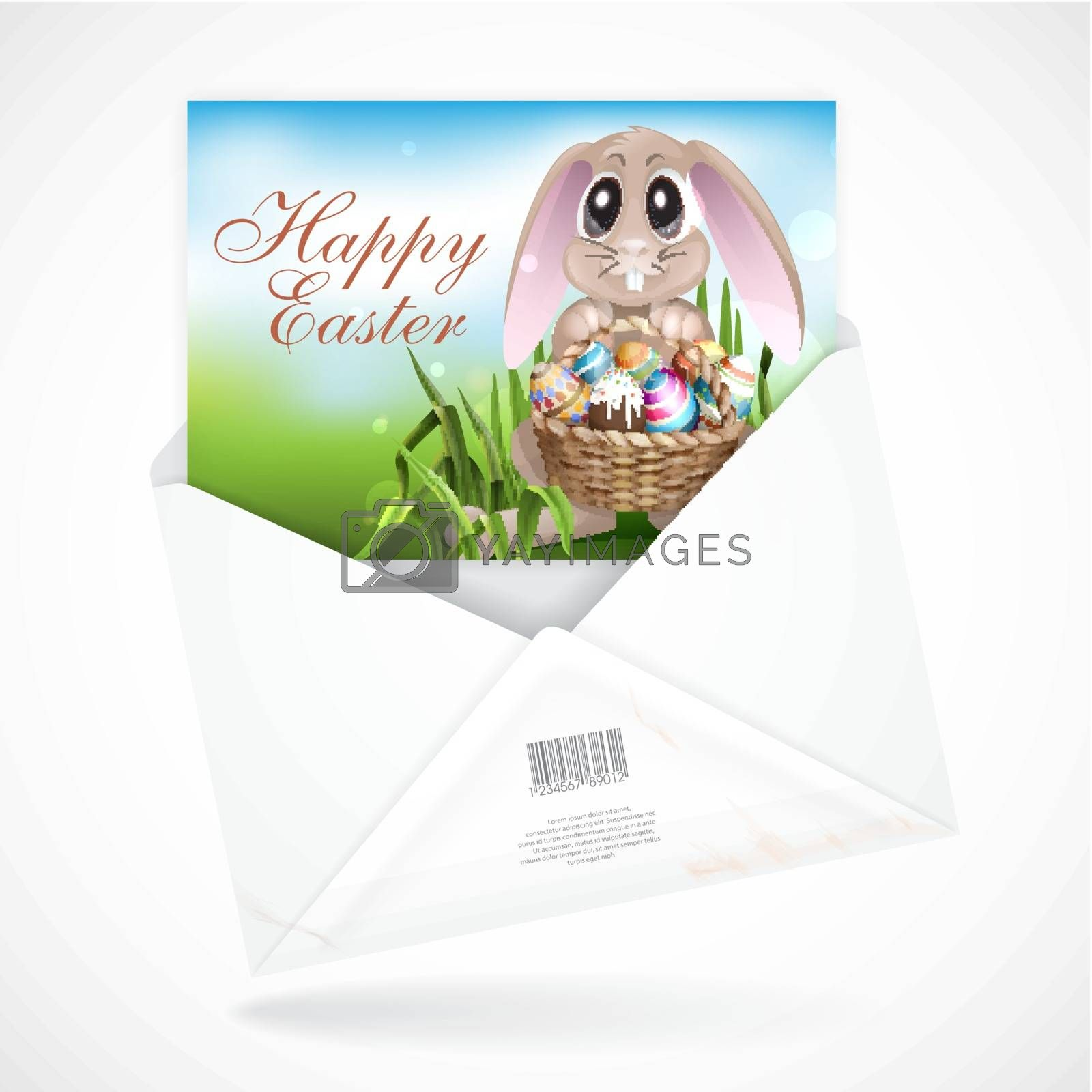 Royalty free image of Happy Easter Background. by HelenStock