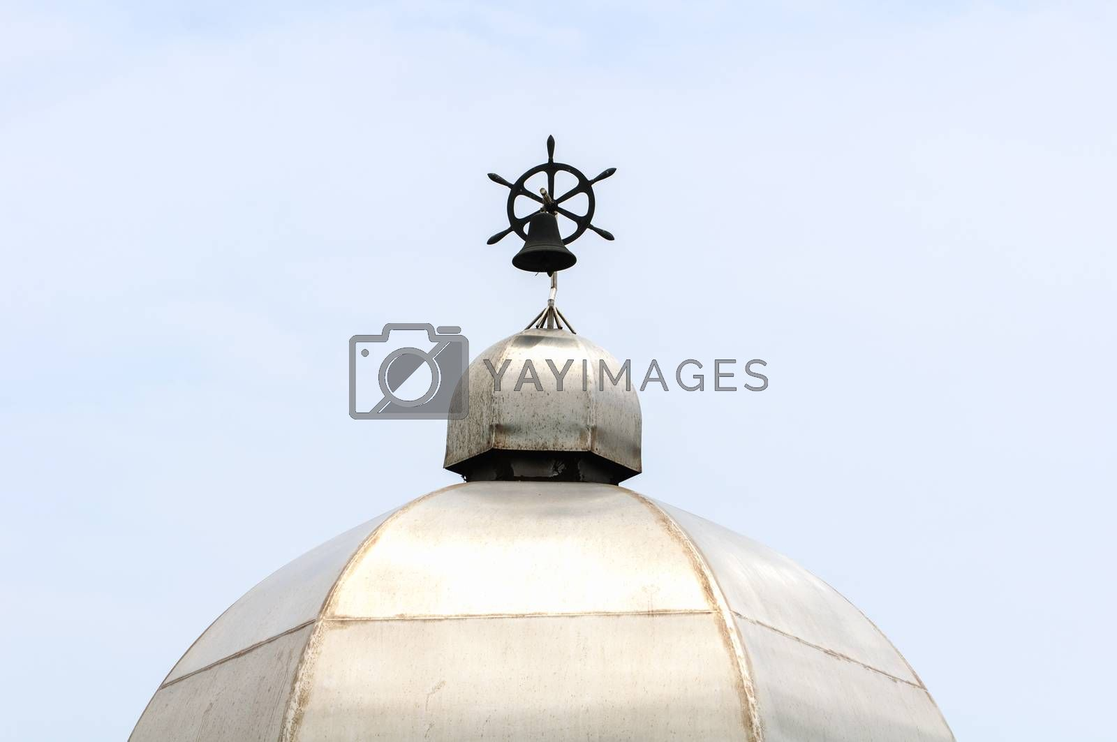 Royalty free image of The bell in the roof by Sorapop
