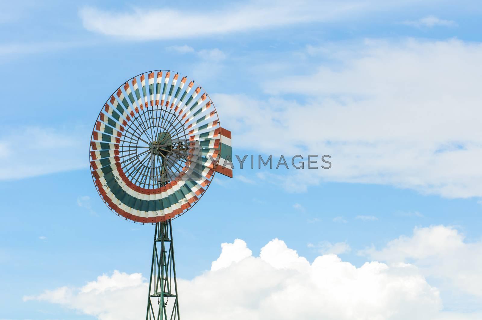 Royalty free image of Wind turbine by Sorapop
