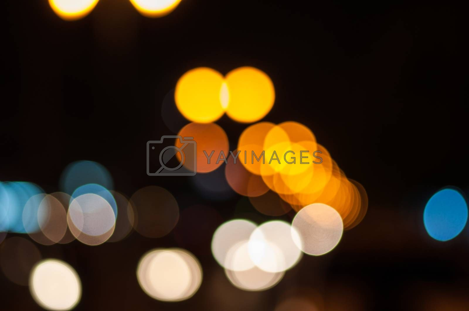 Royalty free image of Abstract light bokeh by Sorapop
