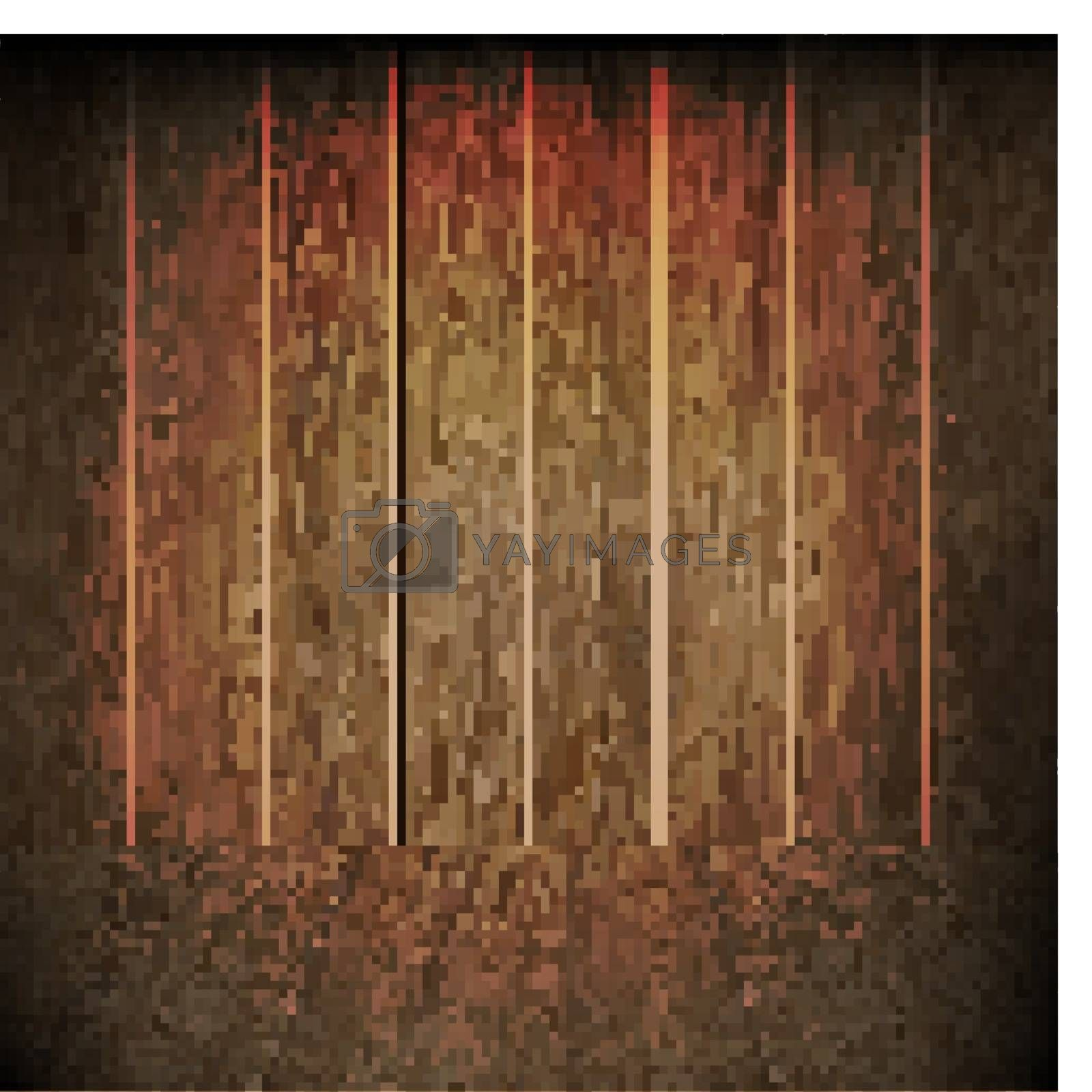 Royalty free image of Dark Wood Texture by cammep