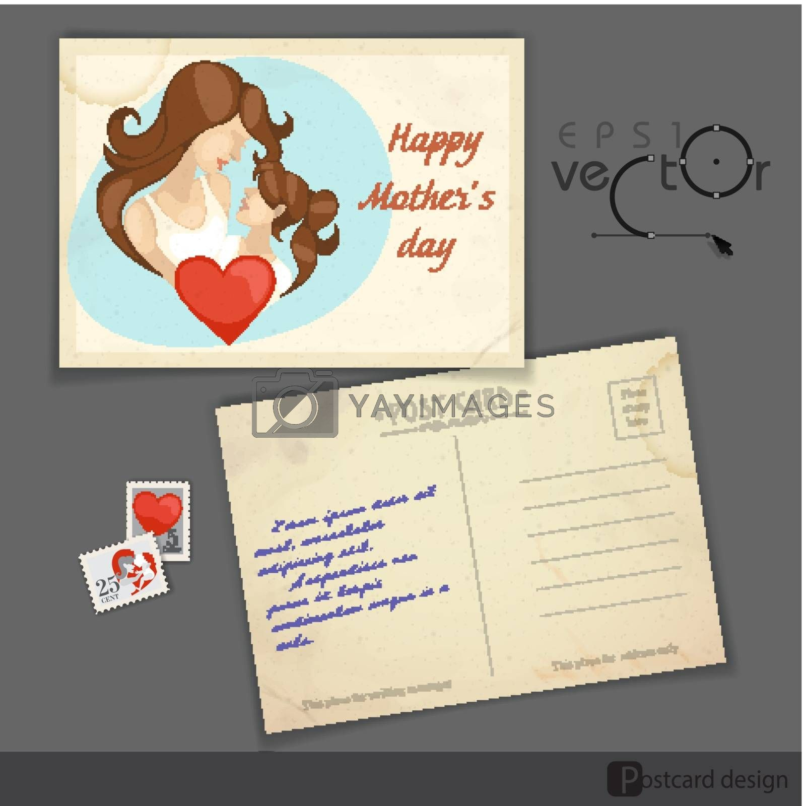 Royalty free image of Happy Mother�s Day. by HelenStock