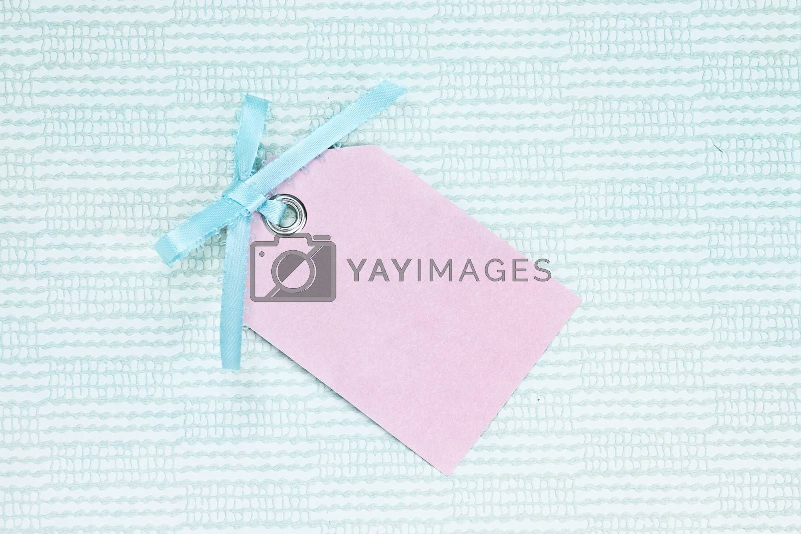 Royalty free image of Blank Tag by StephanieFrey